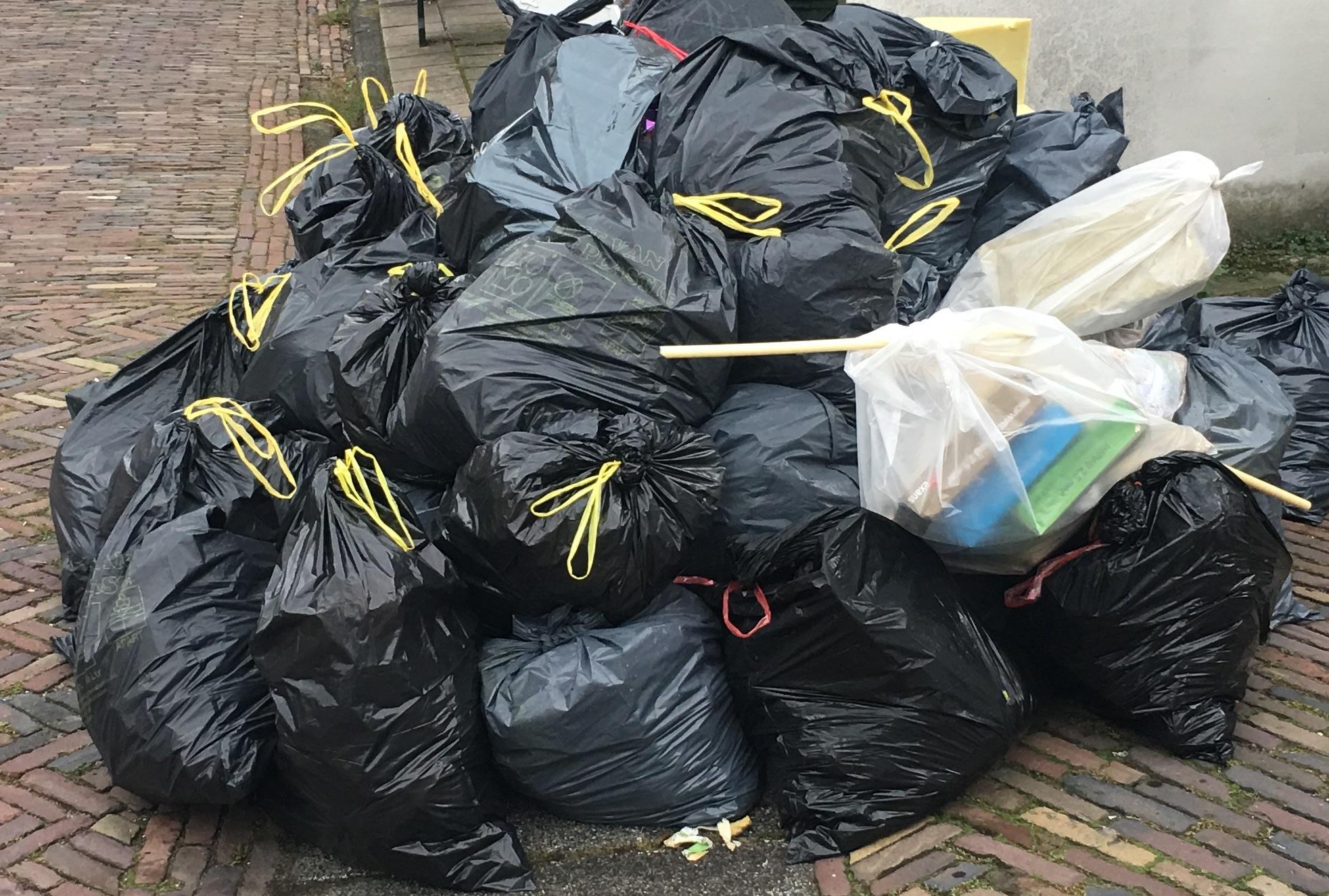 Corona zorgt voor een derde meer afval in Waterland; extra kostenpost voor gemeente van 100.000 euro