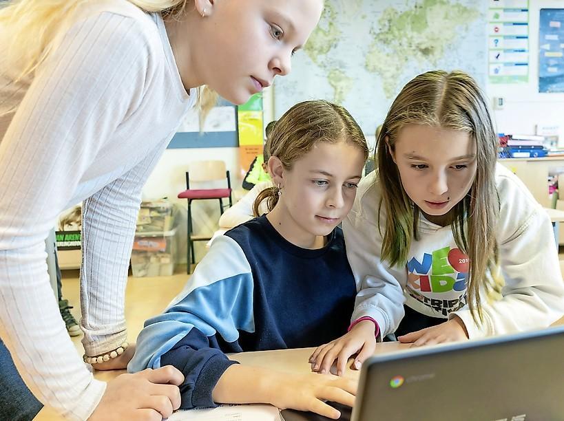 De BSG is de eerste school in de regio met een Programmeer- en Designklas. Speciaal voor techneuten in de dop, zoals Nilo. Hij is 10 en 'spreekt' al Python, JavaScript én HTML