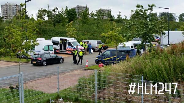 Politie int tienduizenden euro's belasting bij bestuurders in Haarlem