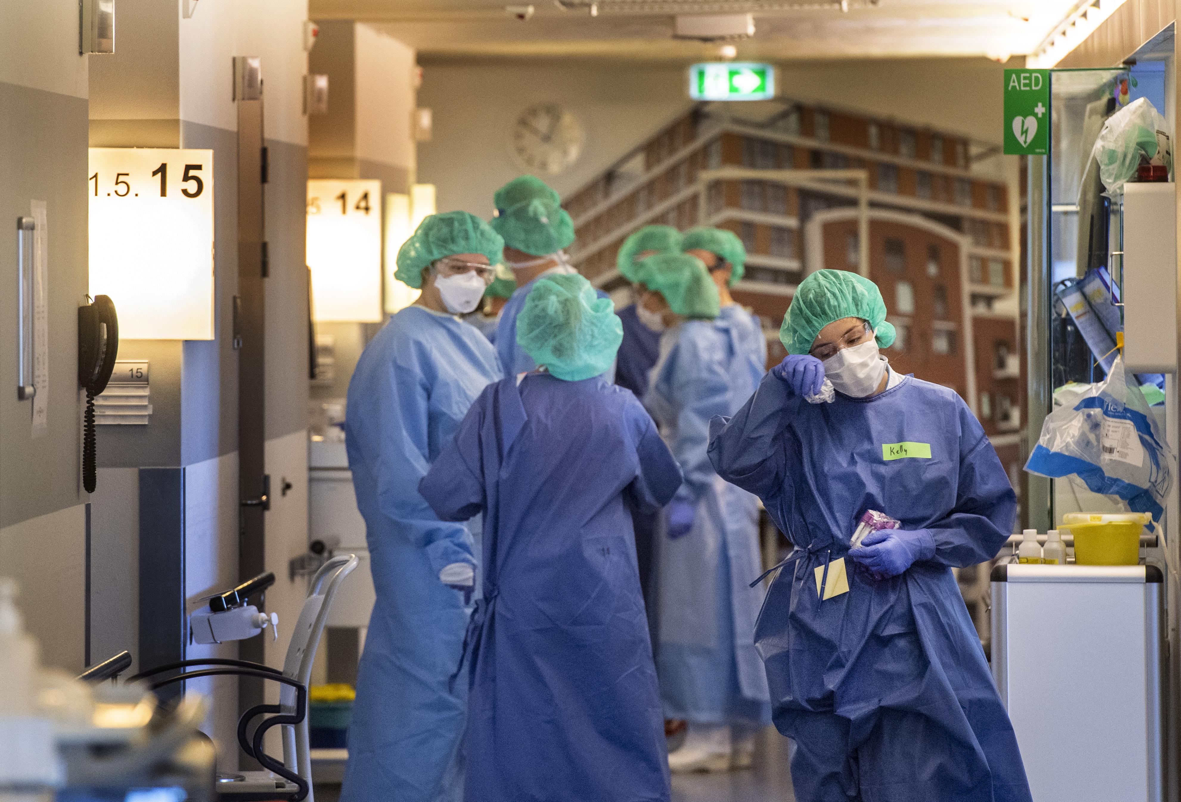 De strijd tegen coronavirus wordt geleverd in een verder rustig Spaarne Gasthuis