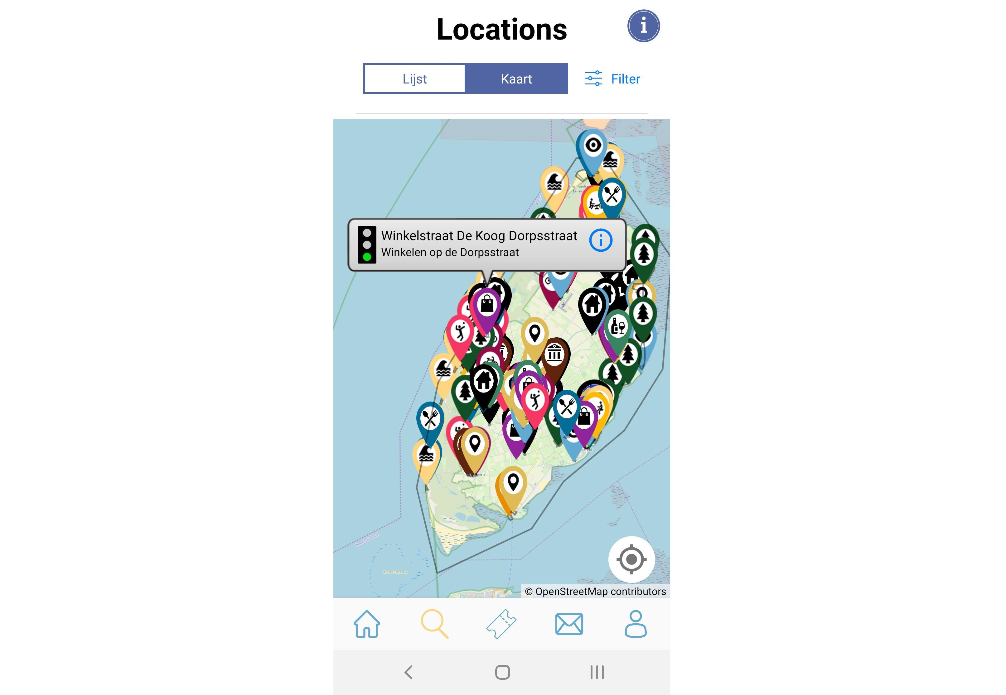 Vijfduizend euro voor de app die drukte op Texel in kaart brengt