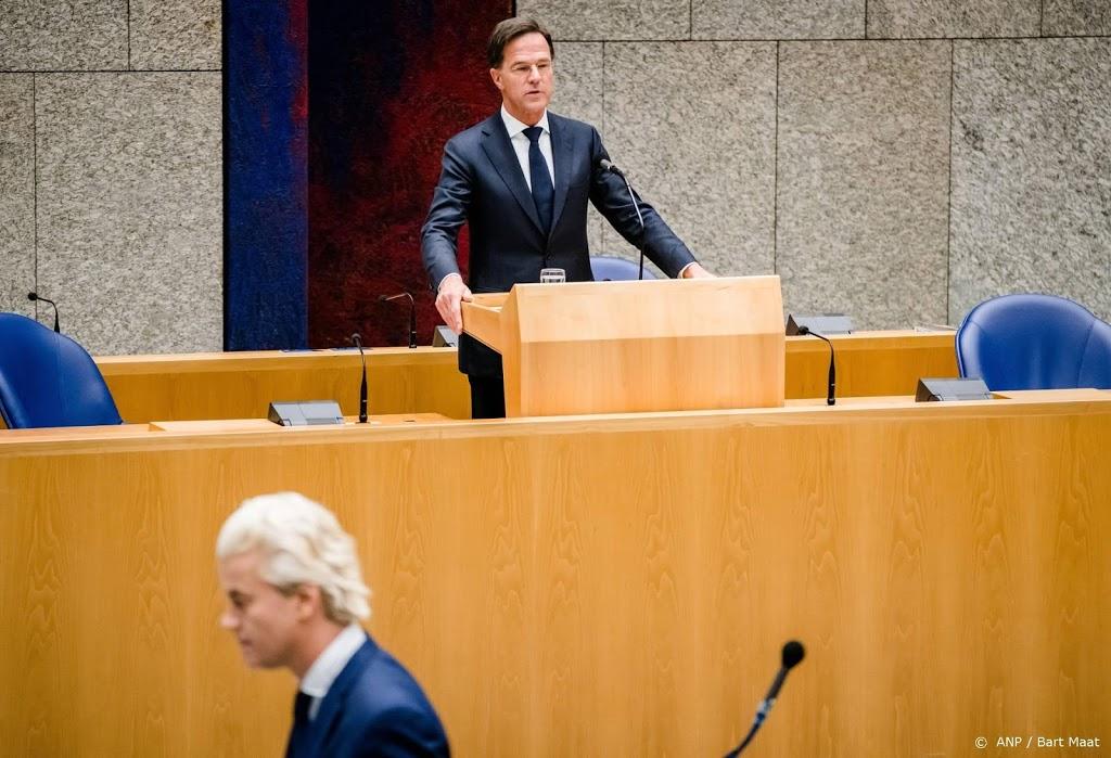 Rutte tegenover Wilders en Hoekstra in slotdebat van NOS