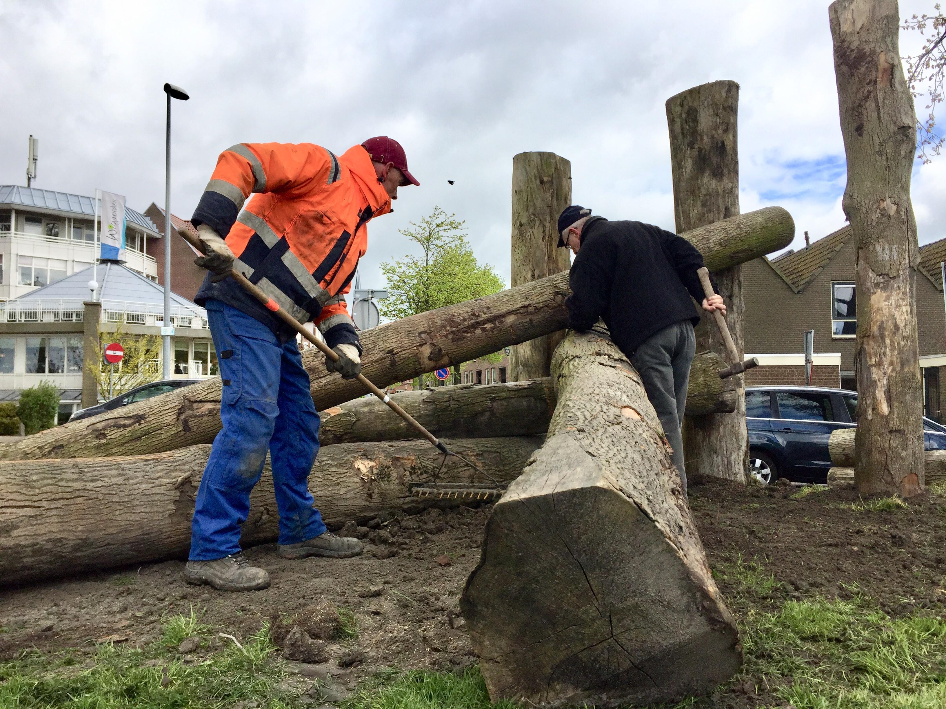 Bomen bepalen het artistieke beeld op Westerdijk