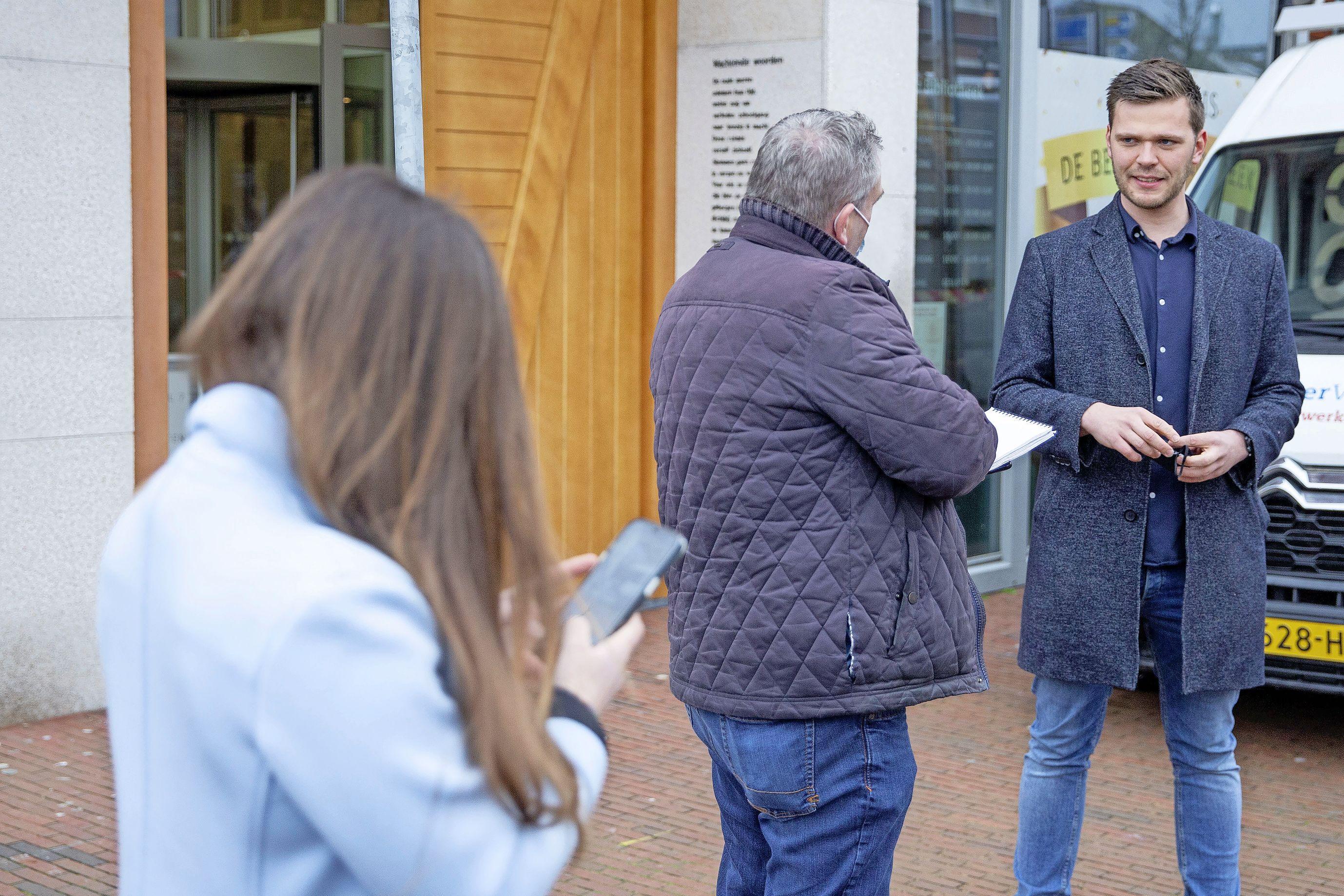 Helderse kiezer vierkant achter Harmen Krul. Met 916 voorkeursstemmen zit hij zijn CDA-lijsttrekker Wopke Hoekstra op de hielen