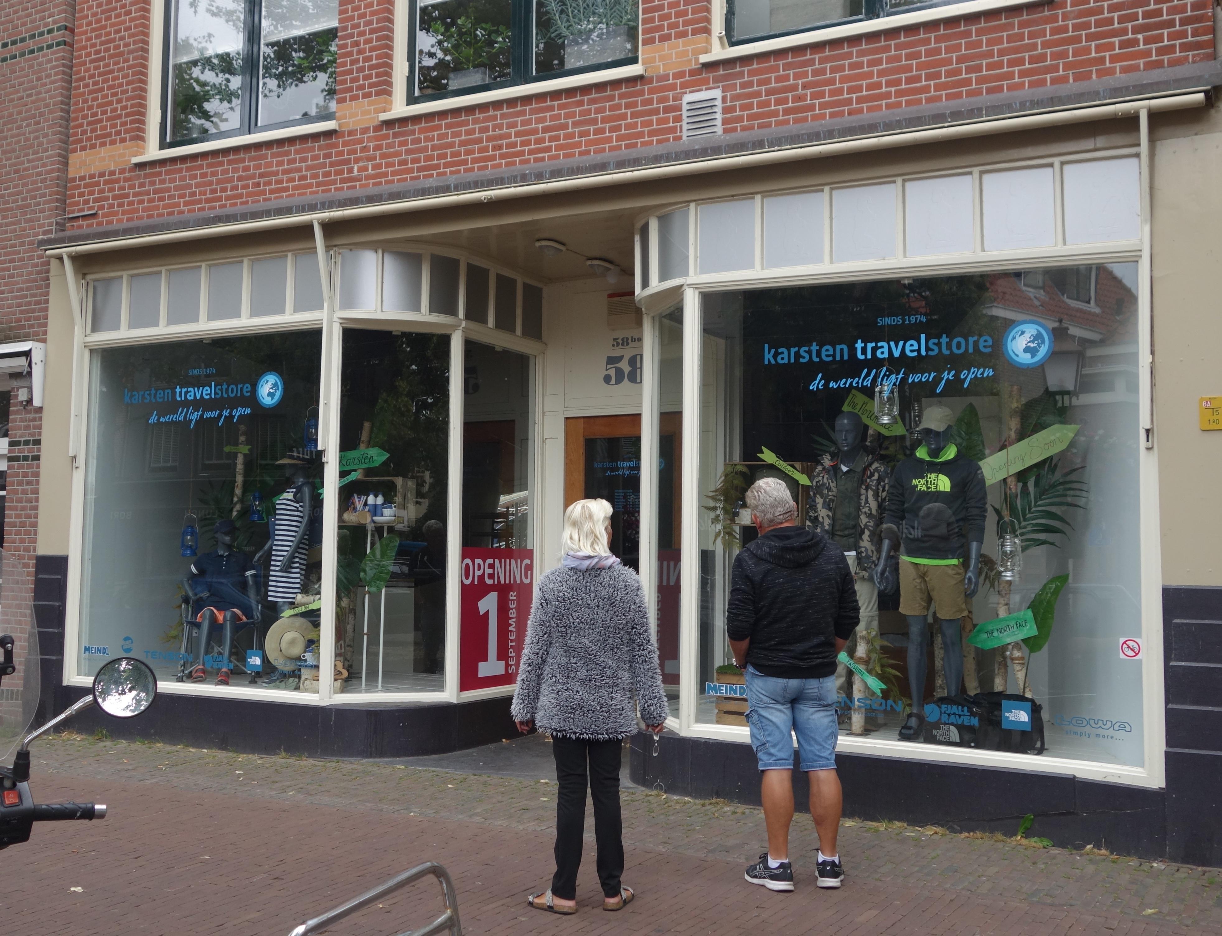 Karsten Travelstore start in hartje Hoorn outdoorwinkel