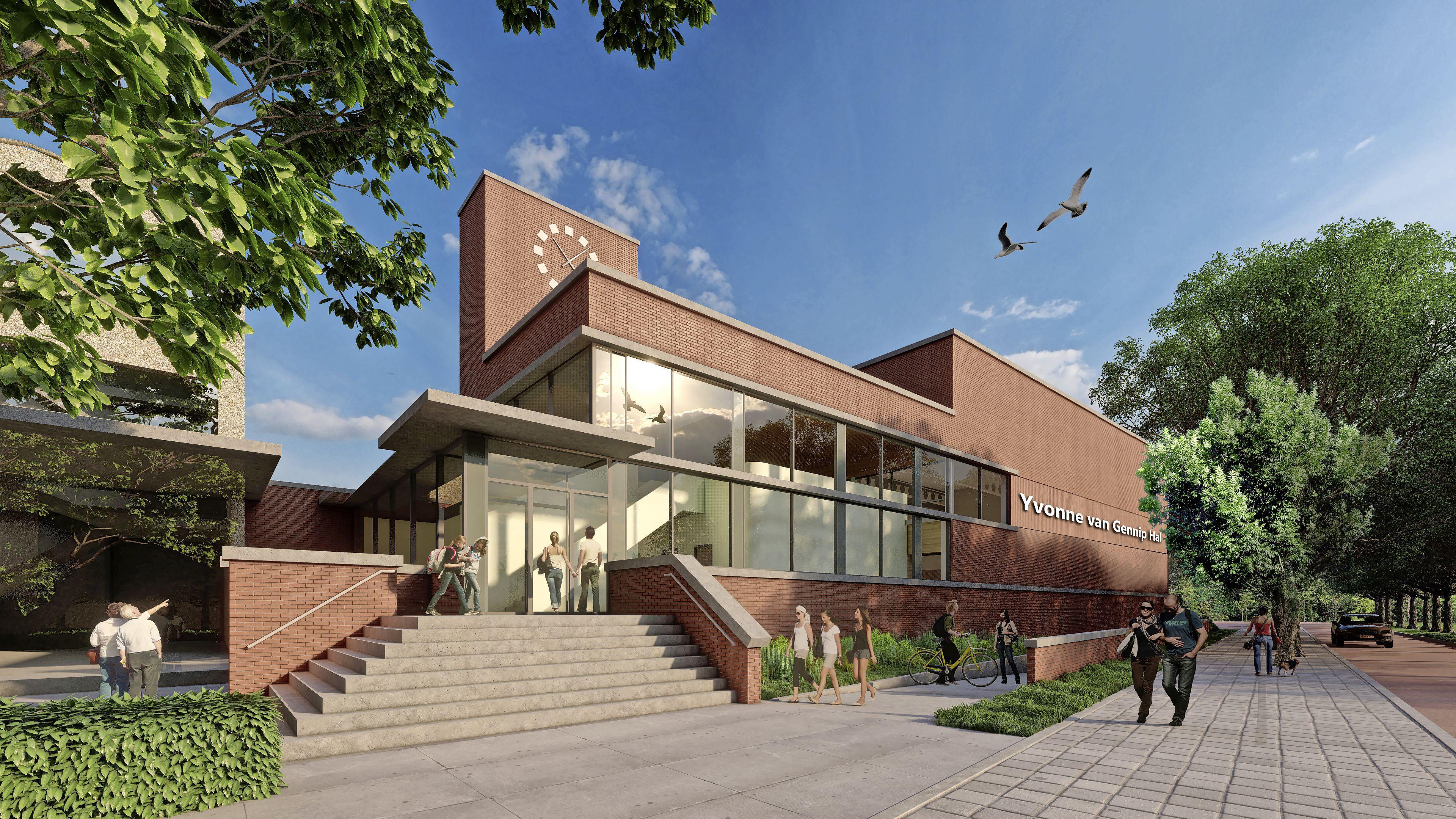 Nieuwe sporthal in Haarlem-Noord vernoemd naar schaatslegende Yvonne van Gennip: 'Heel cool, iets voor de eeuwigheid'