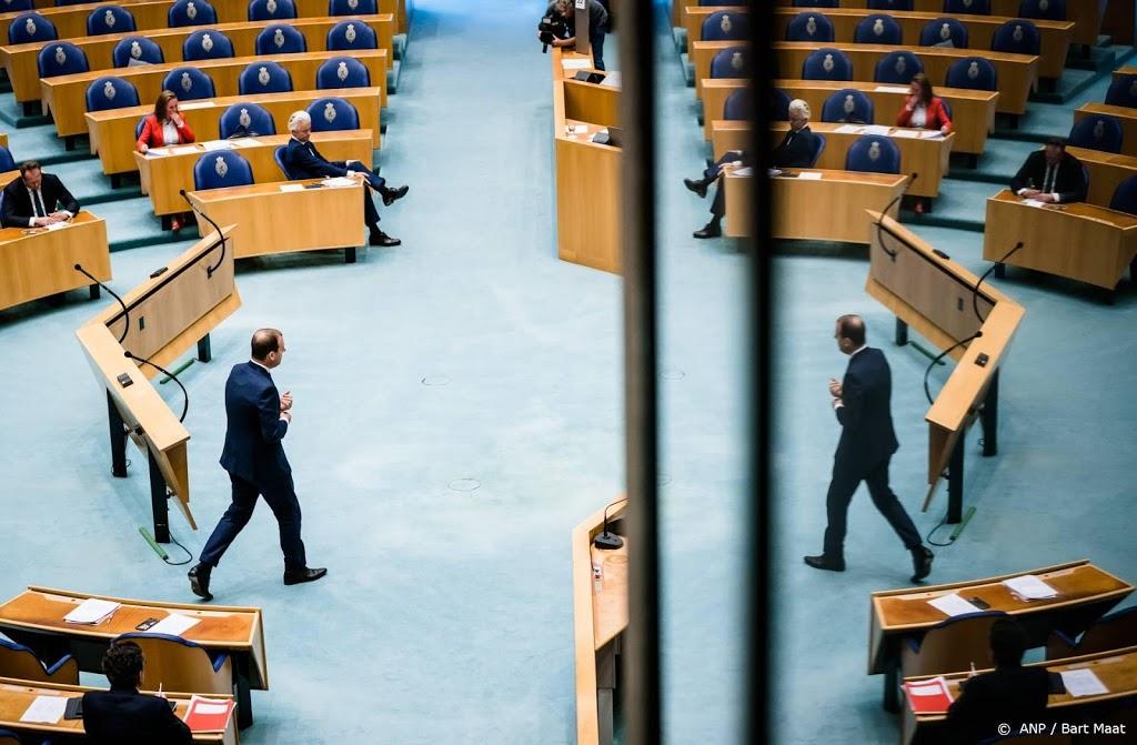 Oppositie keihard over coronabeleid kabinet