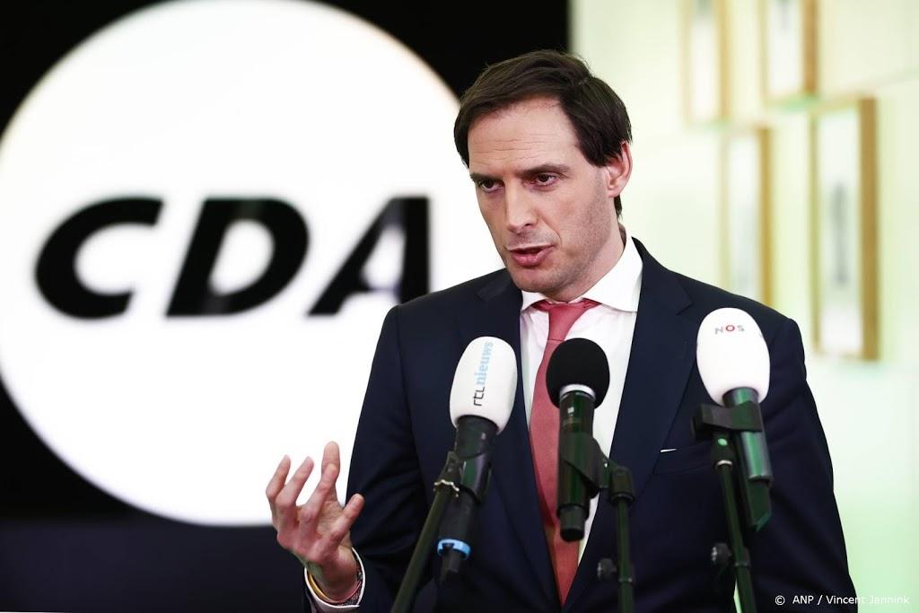Hoekstra: CDA heeft verkiezingen vooral van zichzelf verloren