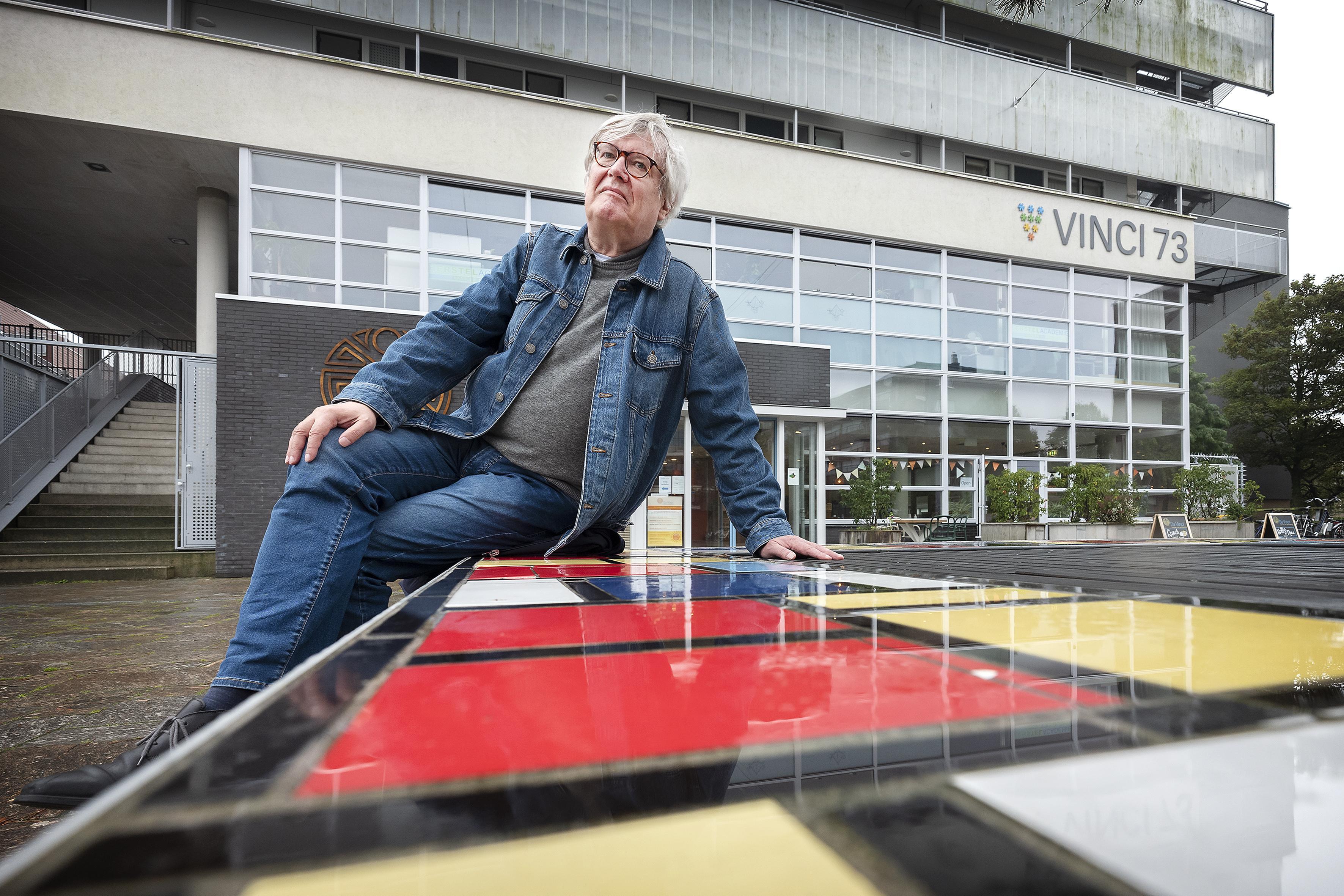 Scheidend voorzitter wijkraad Haarlem-Meerwijk Frank Hilterman ziet de toekomst zonnig in: 'Op naar een klimaatneutraal Meerwijk, een prachtige plek om te wonen'