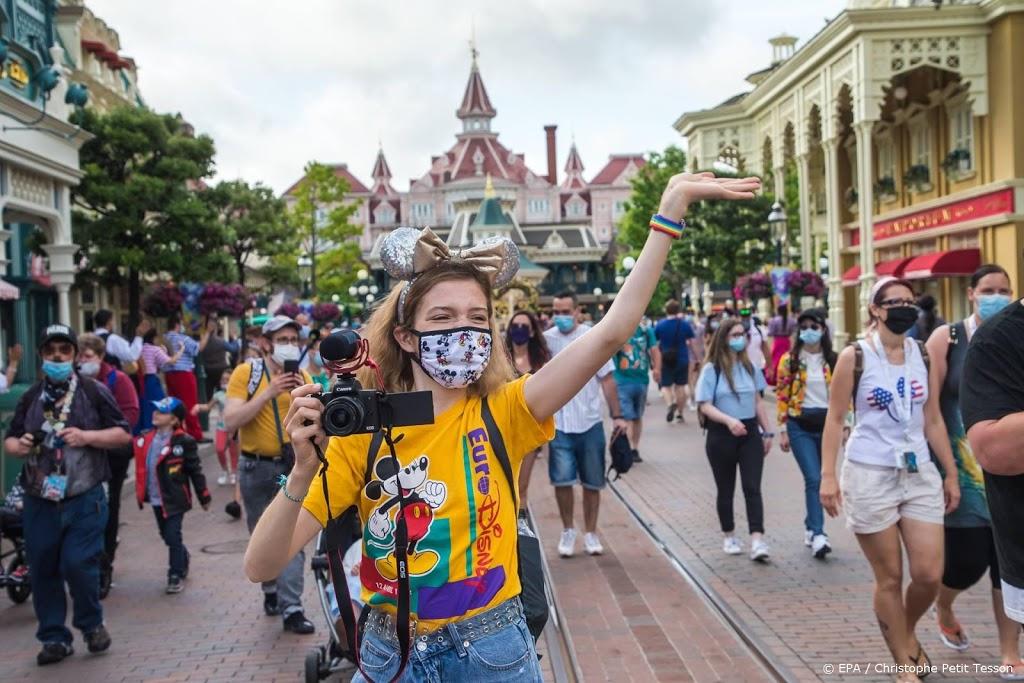Disneyland Parijs opent weer de deuren na coronasluiting