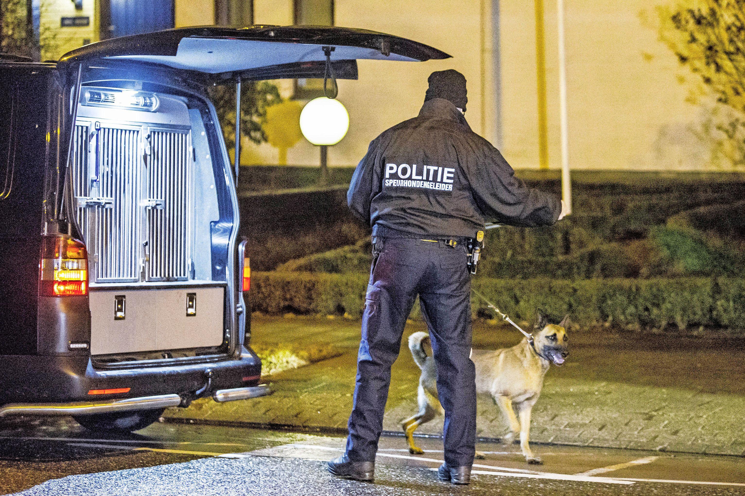 Bestuurder gestolen bestelbusje ontkomt in Schager wijk Waldervaart ondanks inzet van politiehond