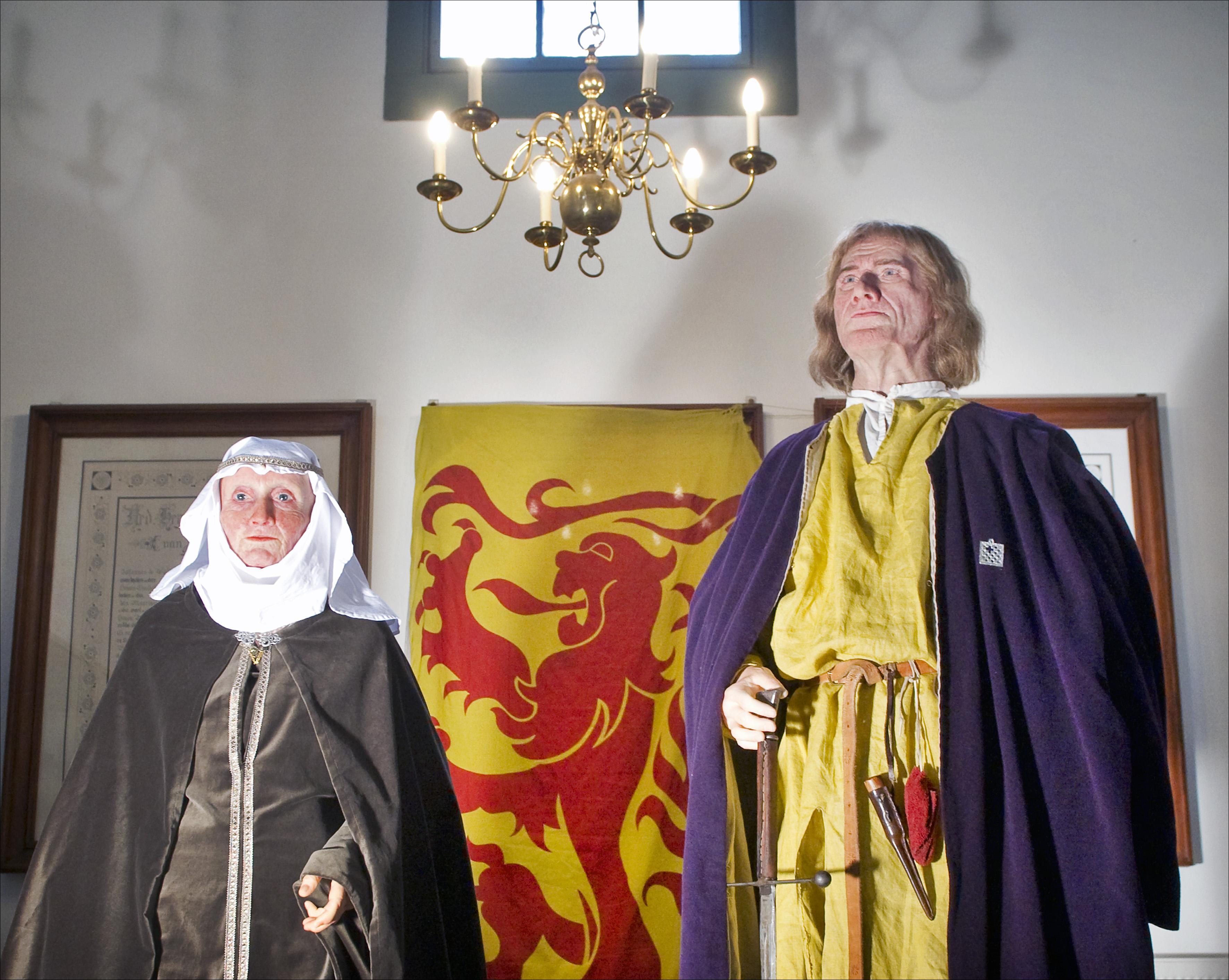 Koolstofonderzoek naar botten Willem I en Hillegonda wijzen uit dat zij onder de Brederodekapel van de Engelmunduskerk lagen begraven