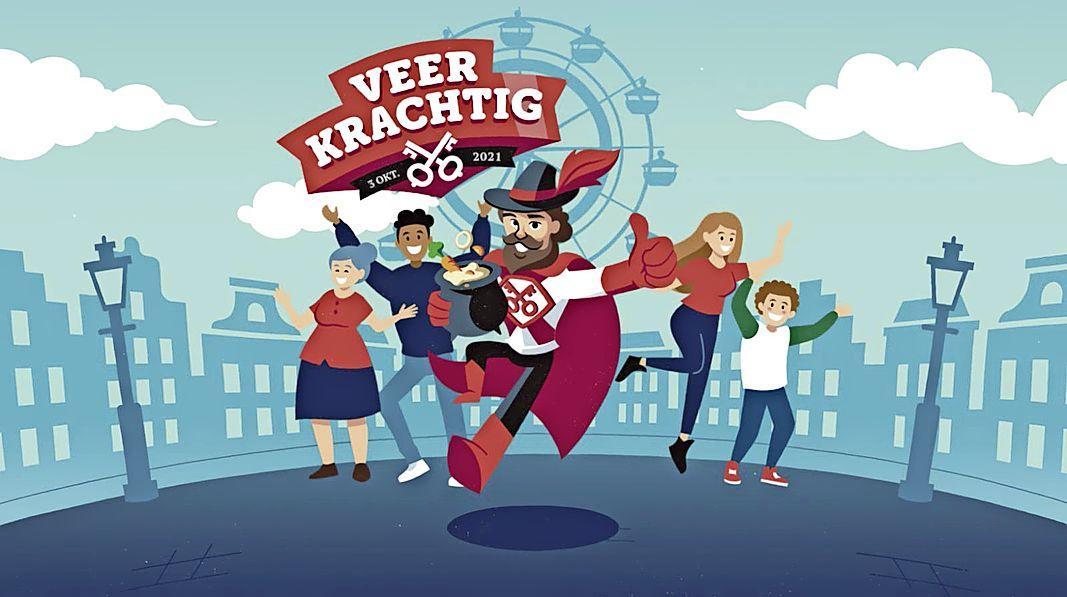 Het thema van Leidens Ontzet 2021 is: Veerkrachtig [video]