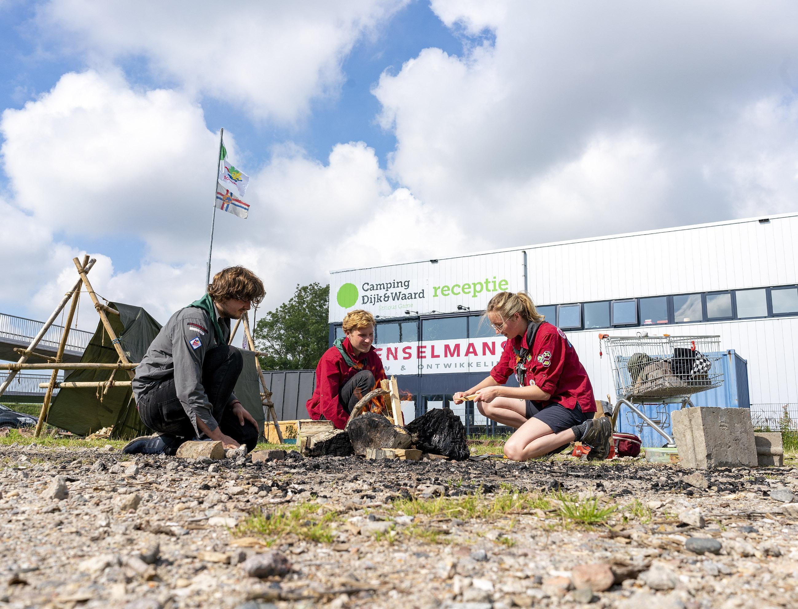 Raadsfracties kritisch op besteding geld uit coronasteunfonds, maar 'Camping Dijk & Waard is nu al een groot succes', vindt het college van Heerhugowaard