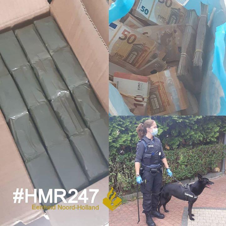 Drugs en ruim anderhalve ton contant geld aangetroffen in woning Hoofddorp