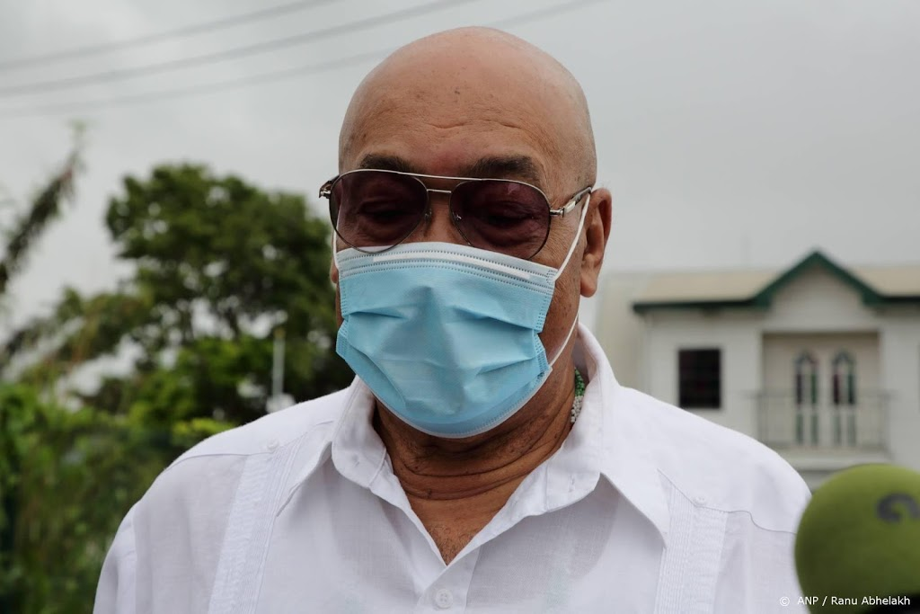 Verhoor ex-president Desi Bouterse op rol Surinaamse krijgsraad
