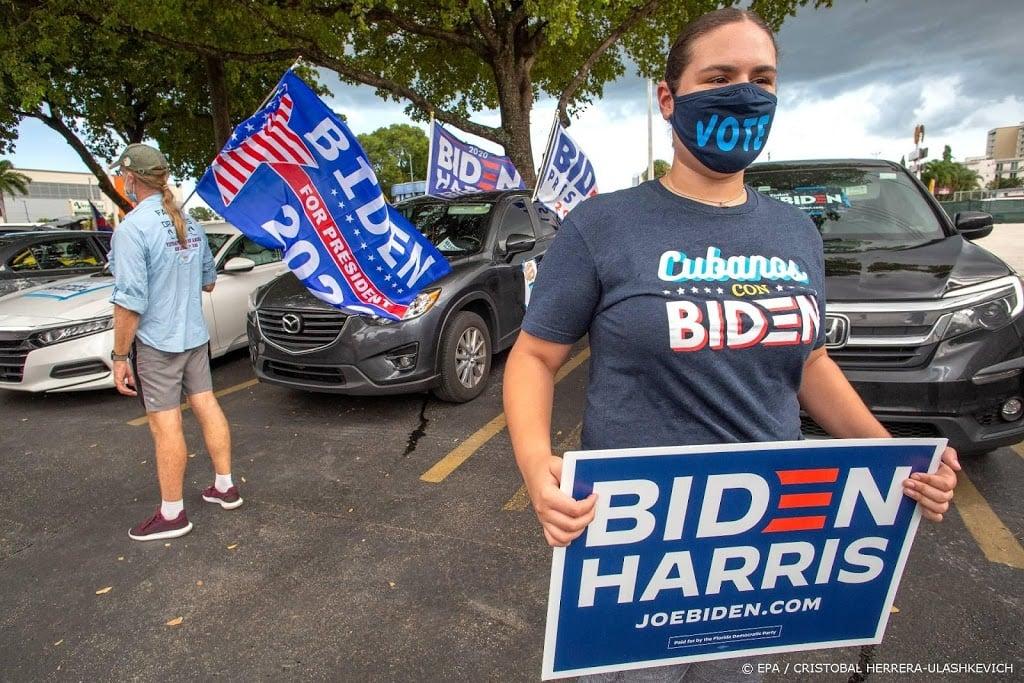 'Campagne Biden haalde in september 383 miljoen dollar op'