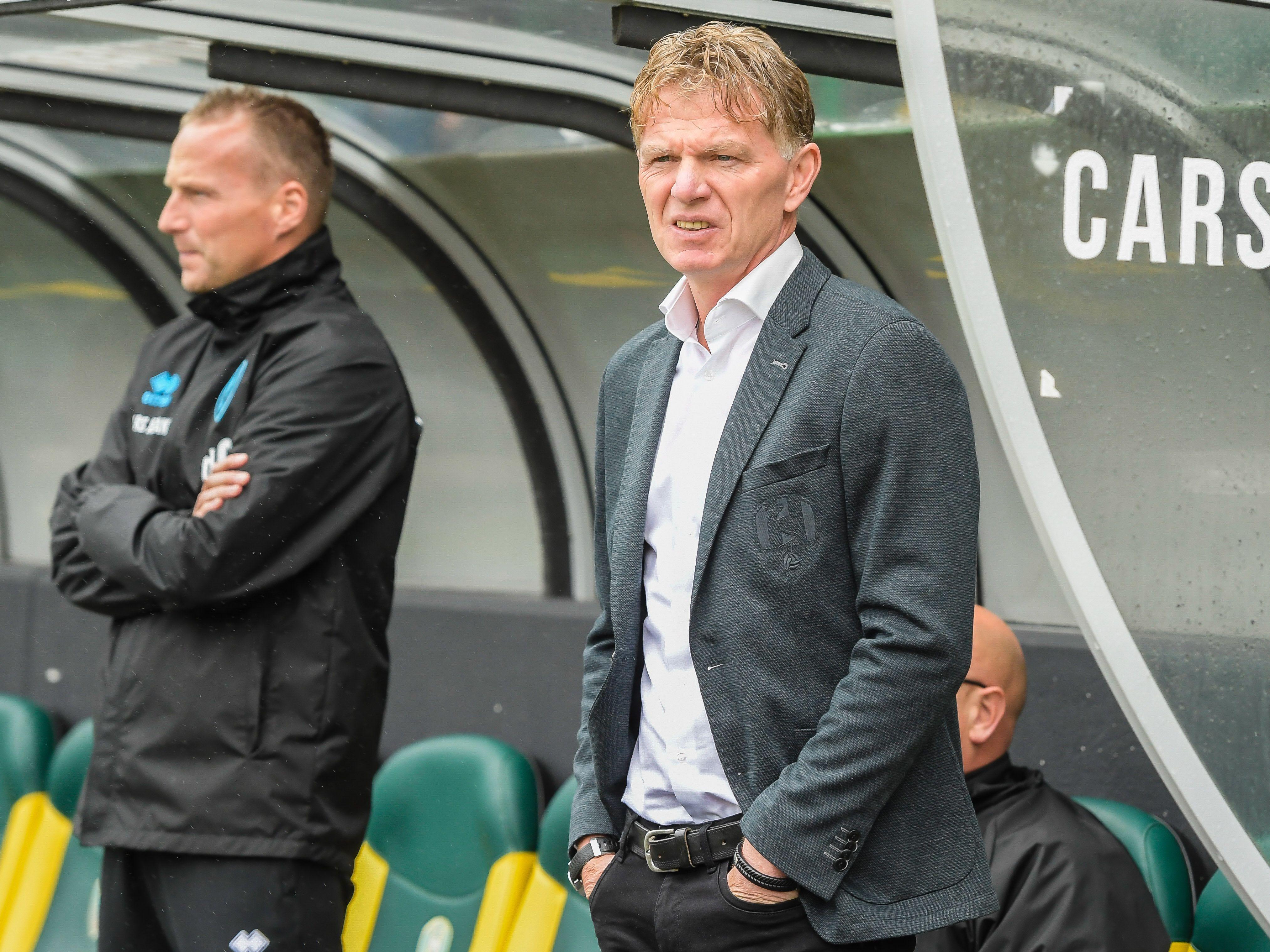 Fons Groenendijk zegt PEC Zwolle af: 'Het plaatje klopt niet, het gevoel is niet goed'
