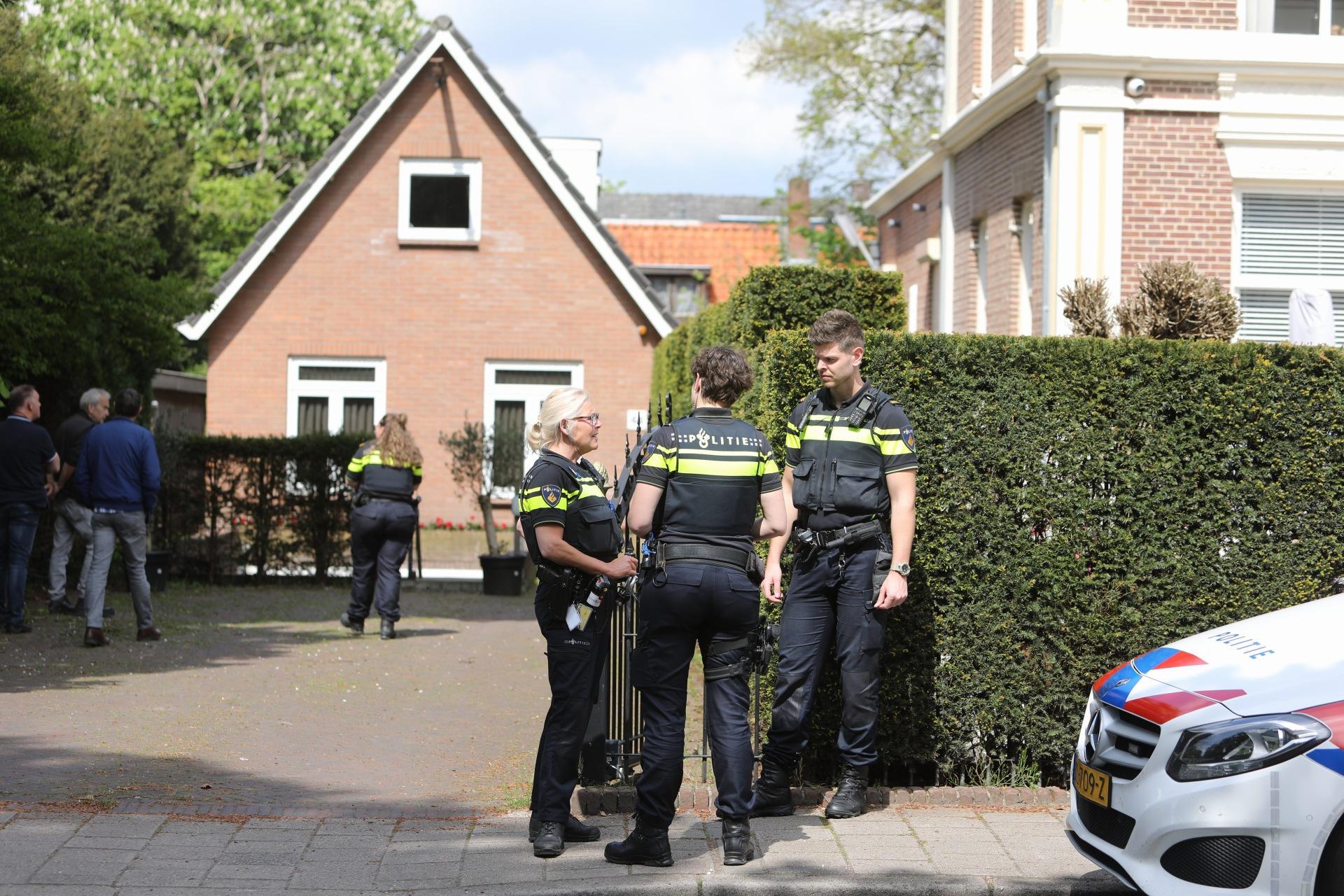 Hennepkwekerij ontdekt in gebouw in Baarn