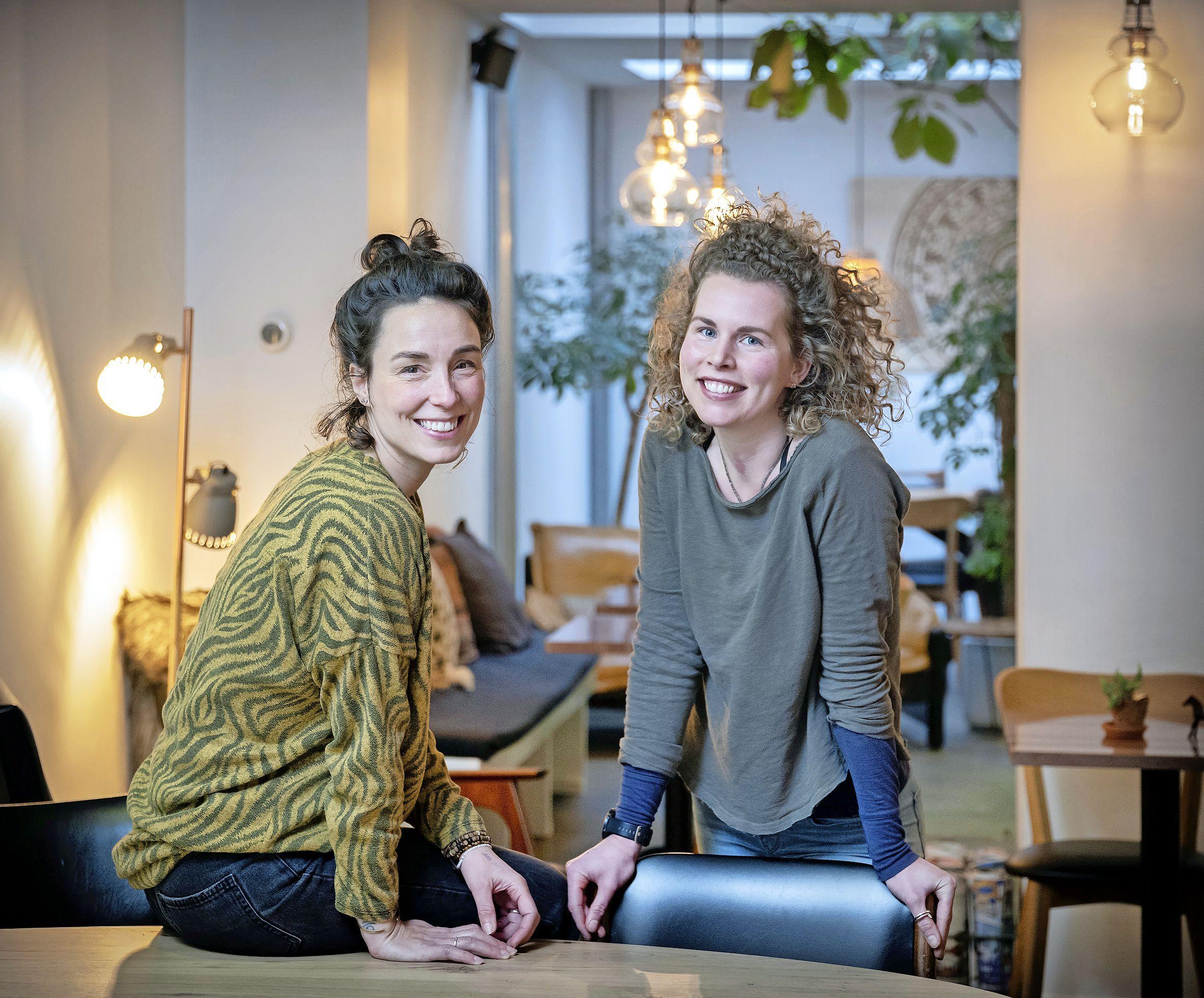 Haarlemse dames Maartje en Lianne vertrouwen op elkaar en hun eigen natuur