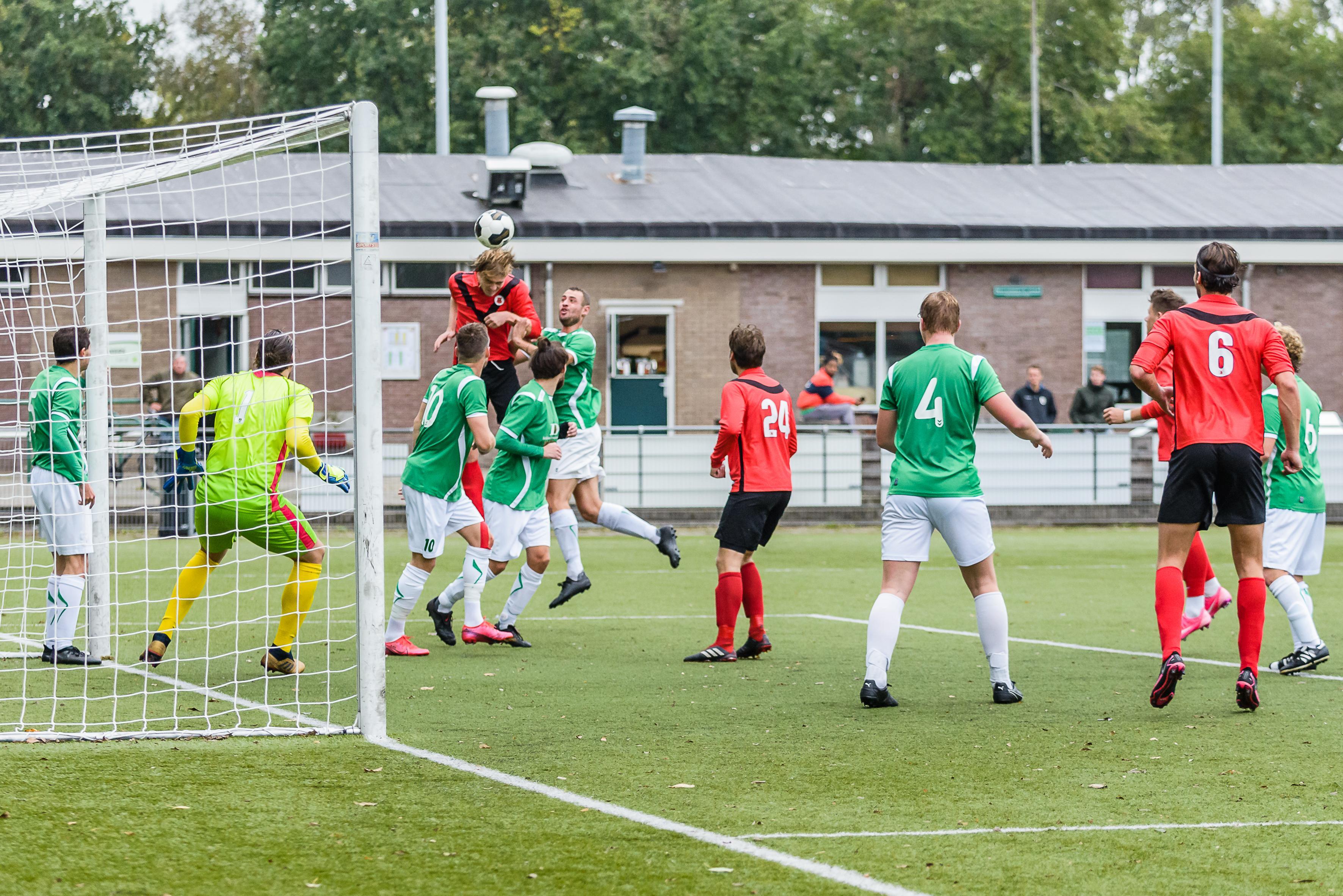 Werklust Monnickendam tegen AFC Amsterdam beloond met eerste punt