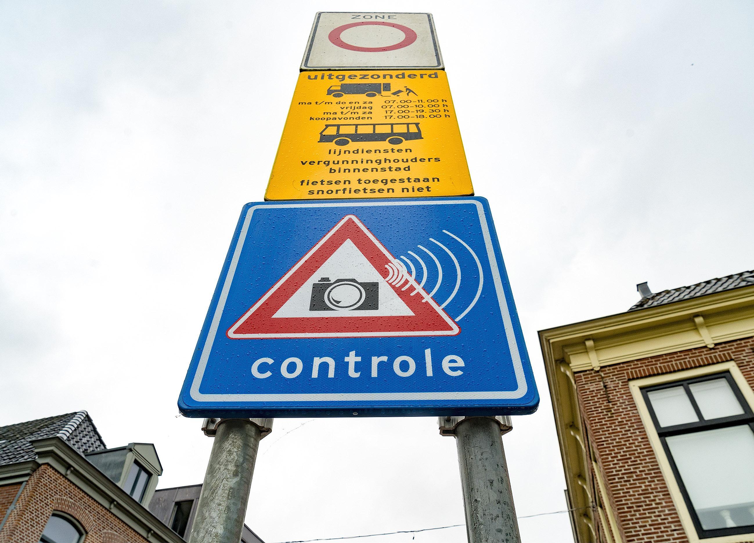 Winkeliers Alkmaars centrum kunnen nu de hele dag met hun bezorgauto's bij de zaak komen