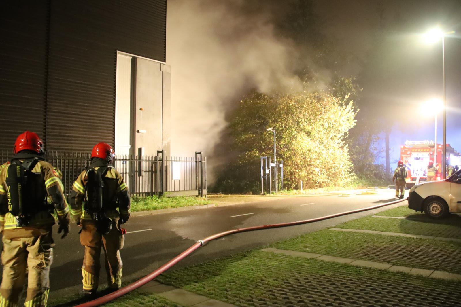 Stroomuitval bij Stadsverwarming Purmerend door brand in elektrahuisje