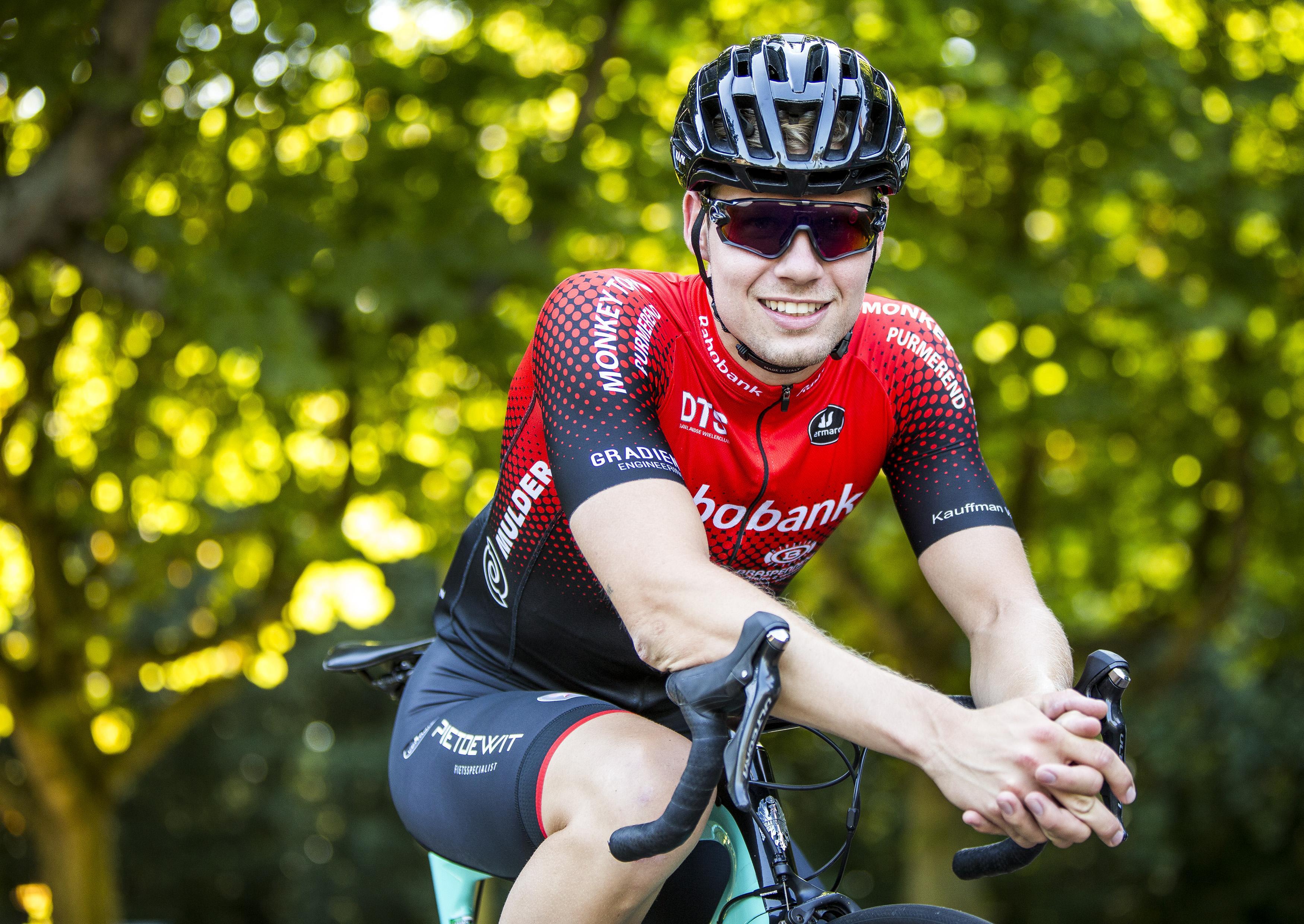 Wielrenner Kevin Wilmsen gebrand op winst in Ronde van Santpoort-Noord: 'Voor de familie en vrienden die langs de hekken staan'