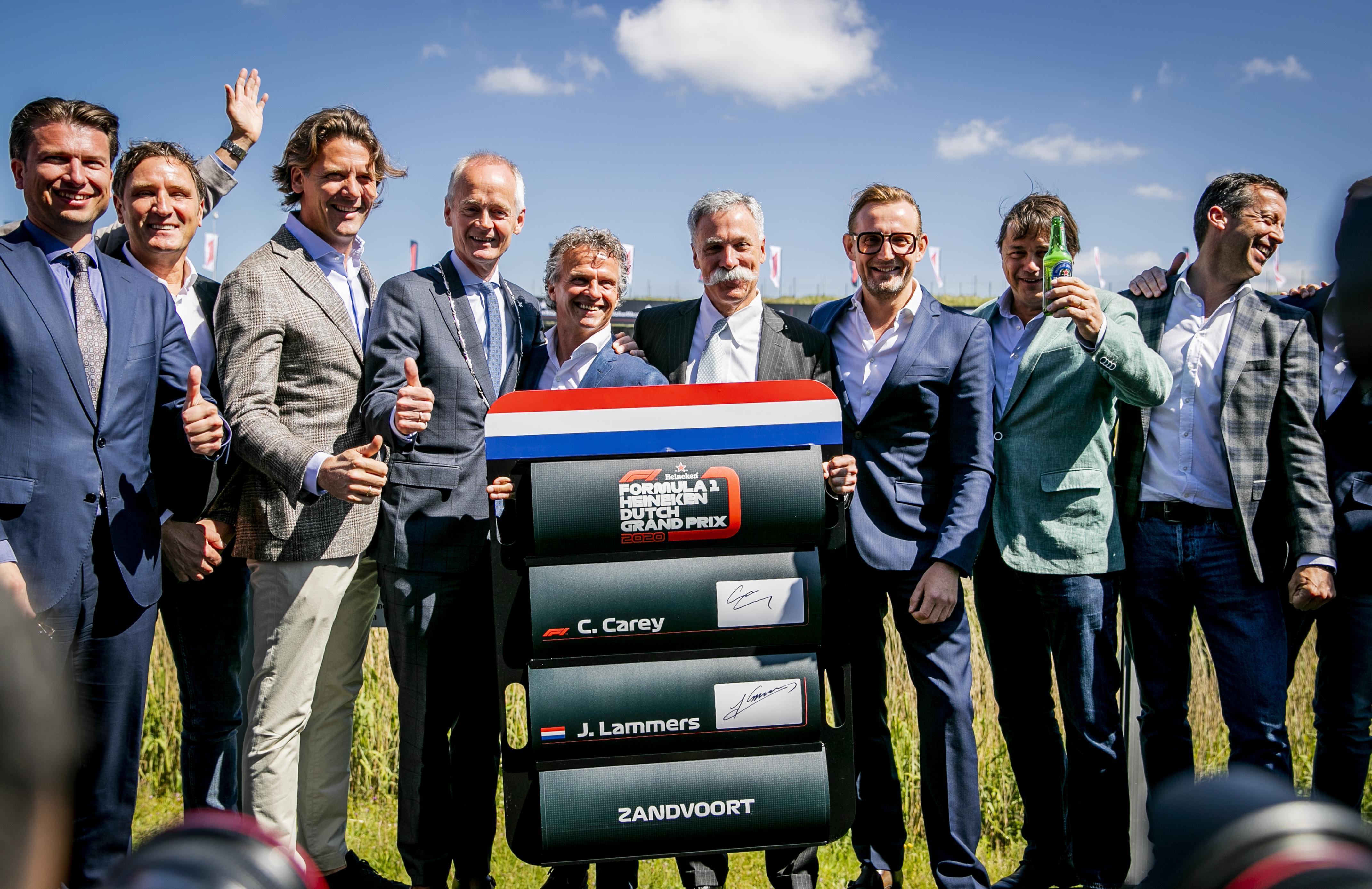 Racecircuit in Zandvoort heeft een nieuwe naam: CM.com Circuit Zandvoort