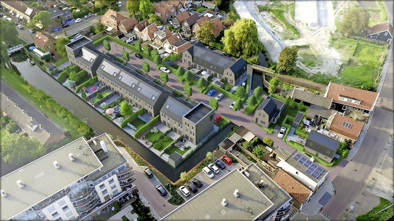 Startdatum voor bouw 19 woningen op oude terrein Content Gordijnatelier in Wormerveer nog niet bekend