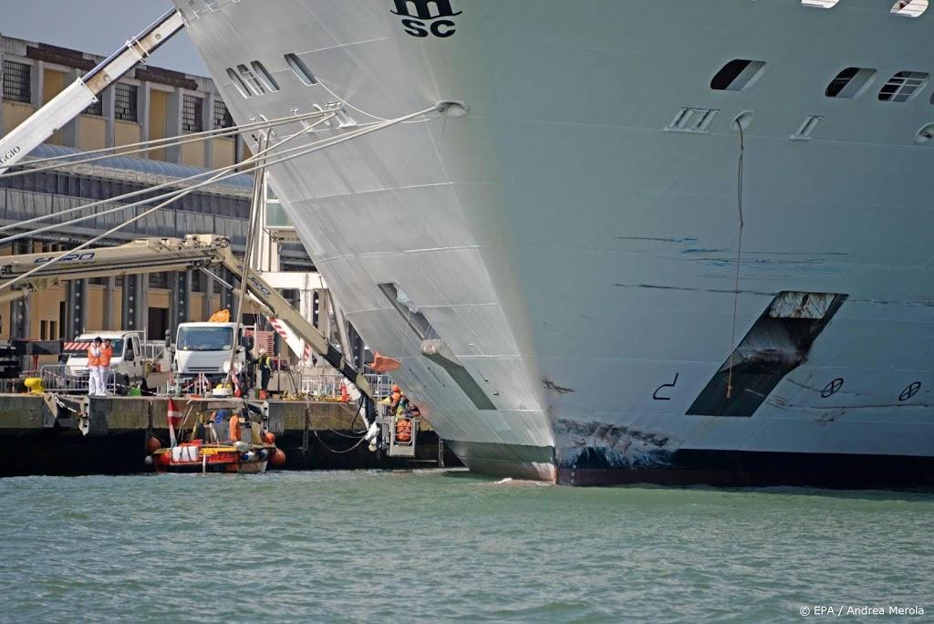 Italiaanse regering verbiedt cruiseschepen bij centrum Venetië