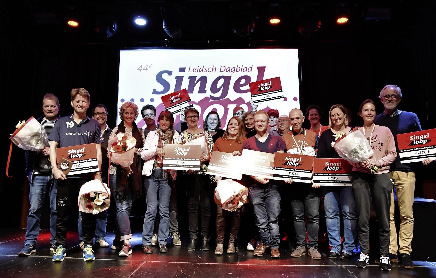45ste editie Leidsch Dagblad Singelloop op vrijdag 17 april 2020