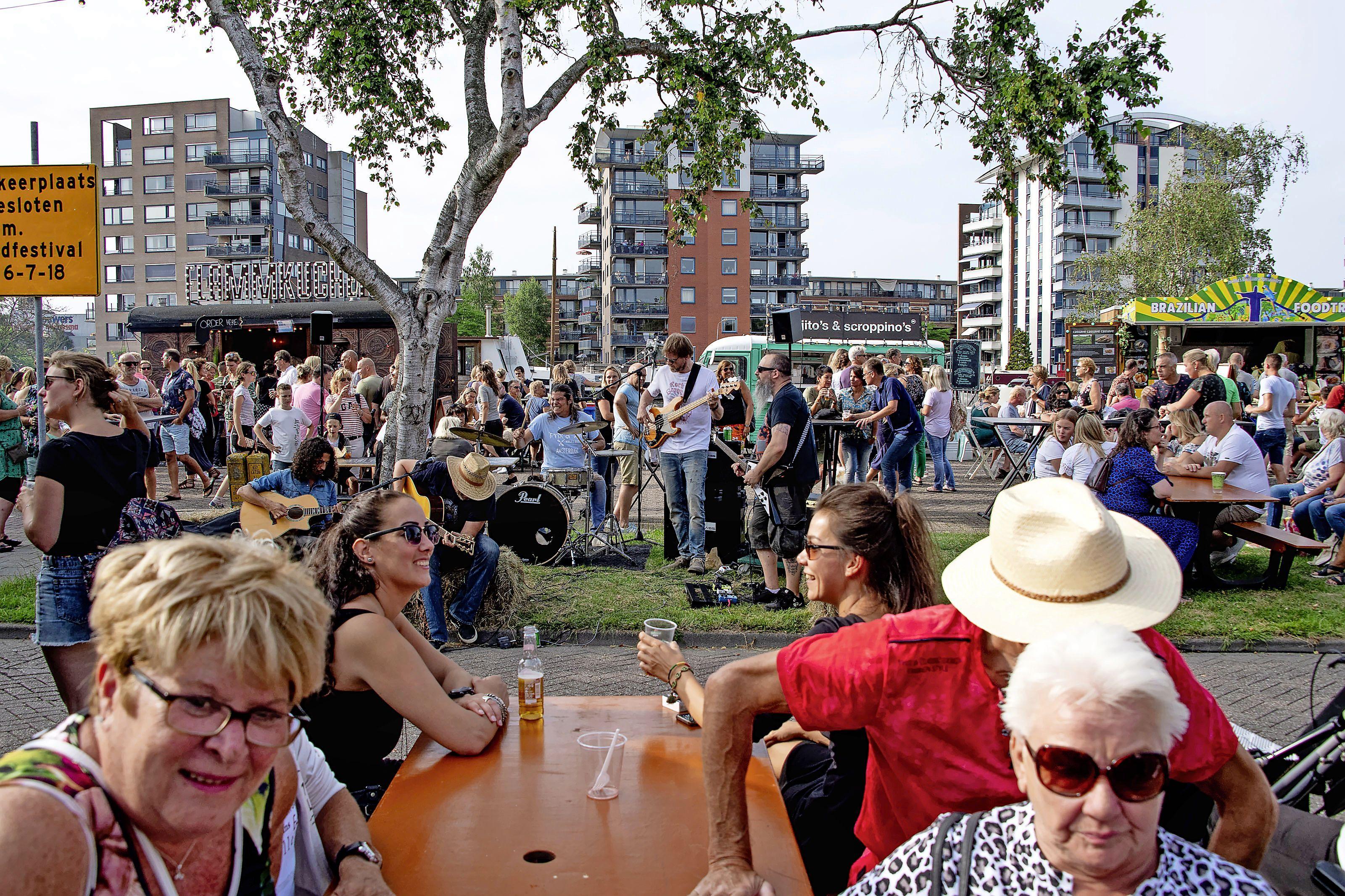 Na twee jaar weer Foodfestival aan de Zaan, maar betaald en kleiner van opzet