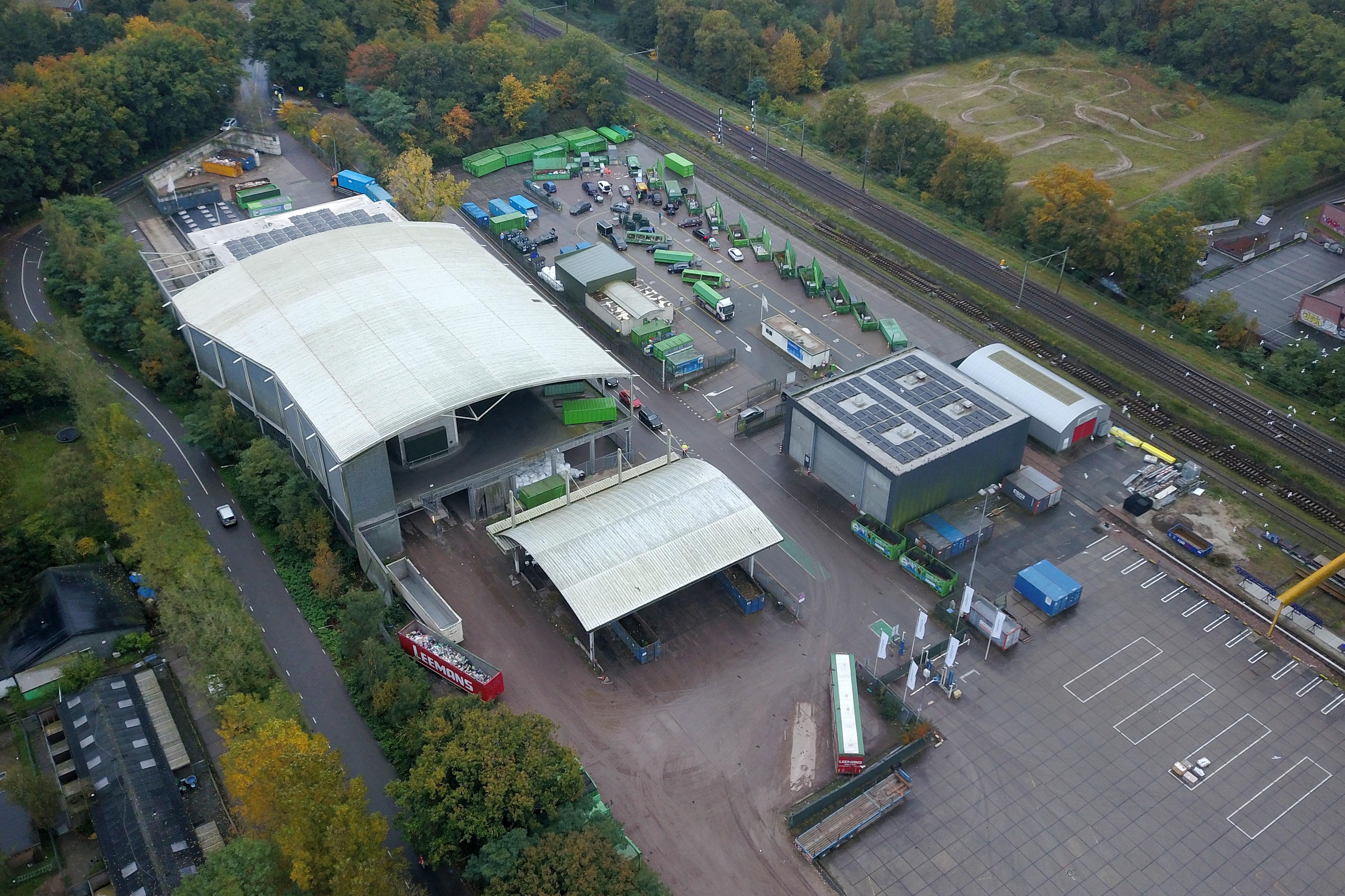 Onderzoek naar ingrijpende modernisering van regionaal afvalcomplex Crailo in Hilversum-Noord