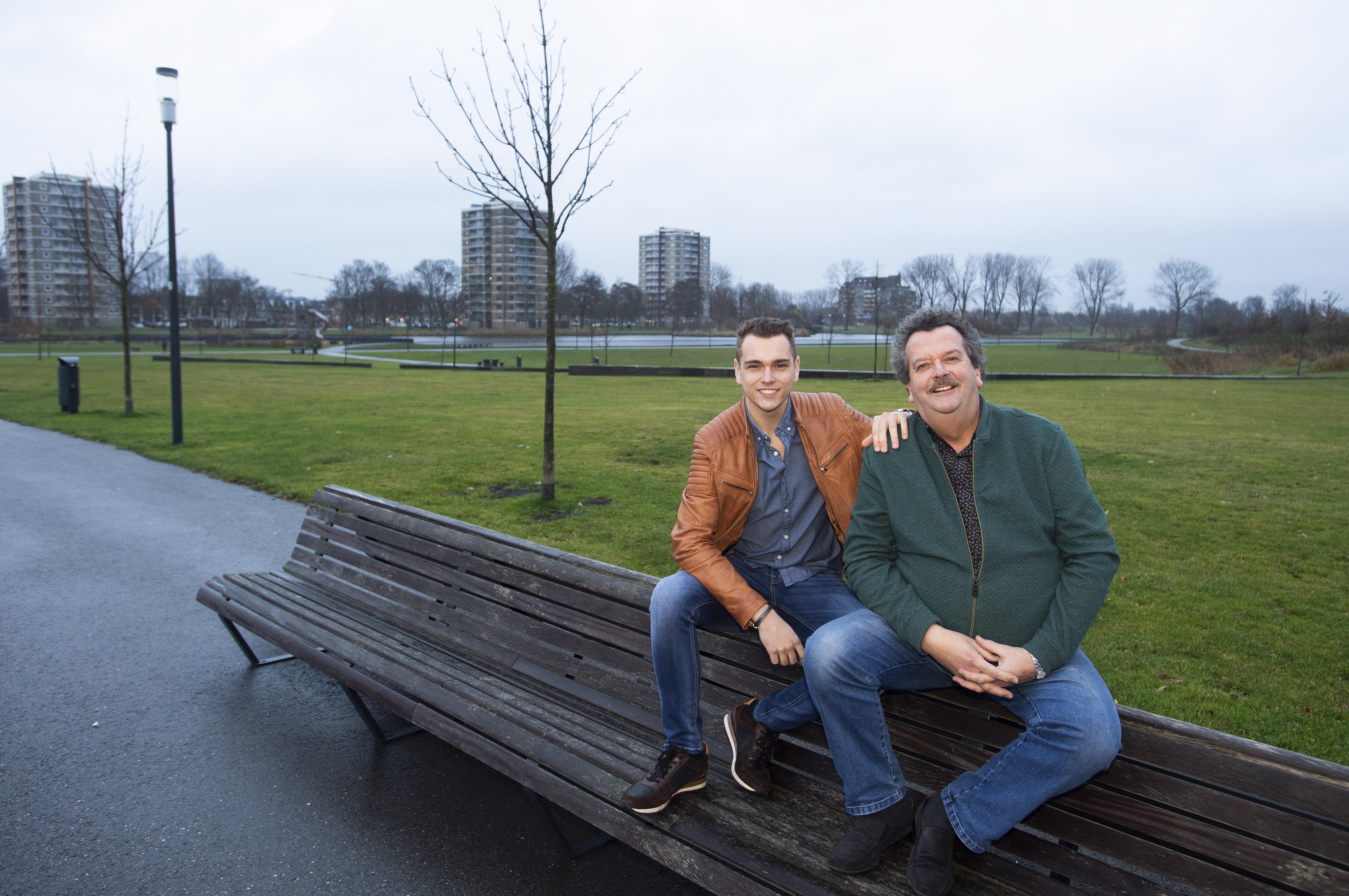 Vader en zoon Ronday samen in Haarlemse kerstcircus