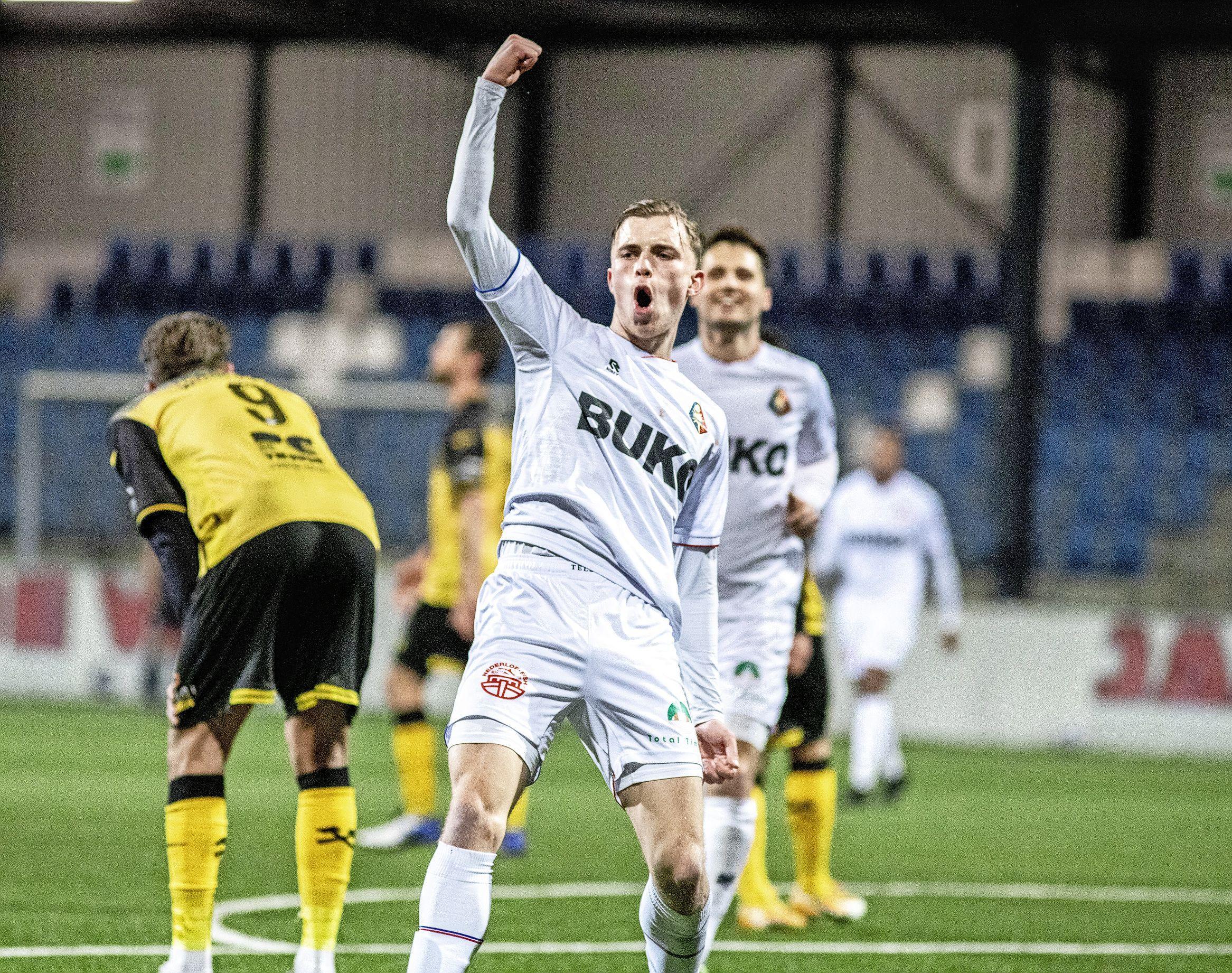 Telstar blijft dit keer wel scherp tot het einde en wint met 3-1 van Roda JC: 'De onderlinge irritatiegrens was bereikt'