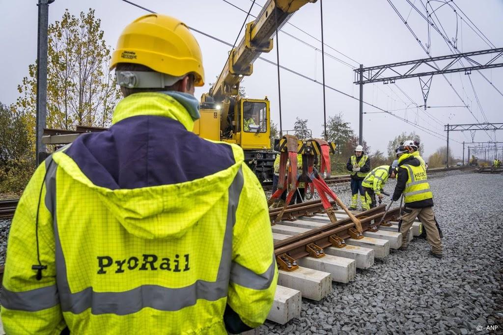 ProRail: spoorwerkers weer gewezen op dragen van stofmaskers