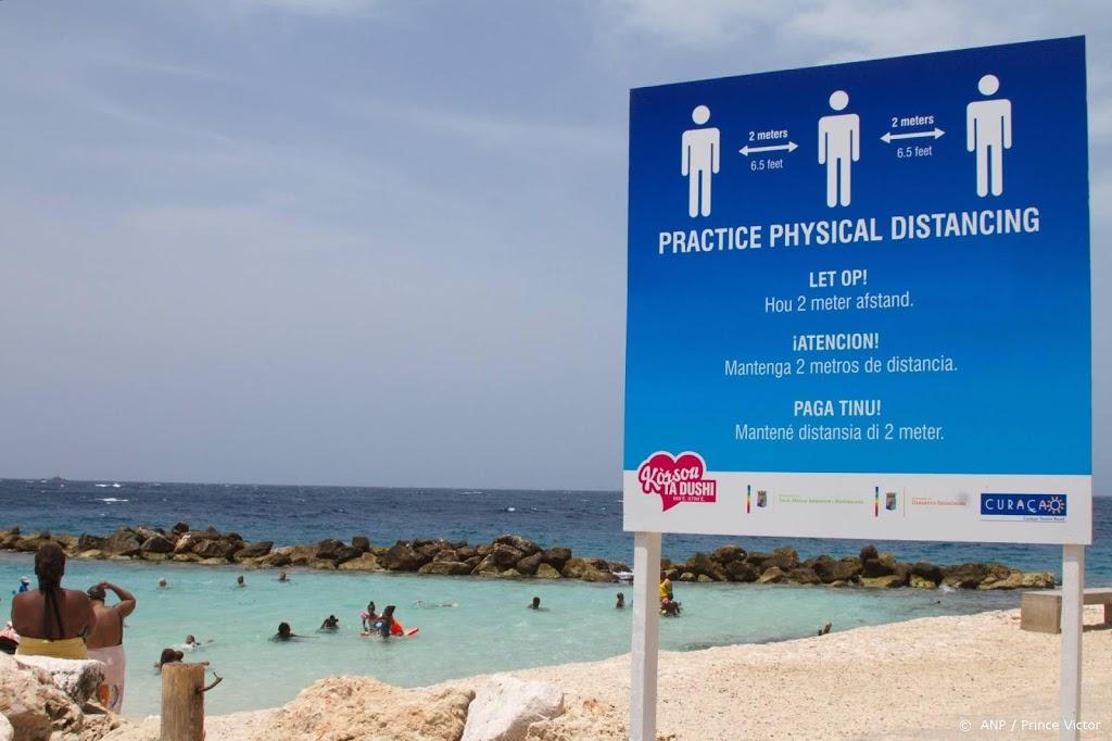 Bijna vijfduizend mensen positief getest op Caribische eilanden