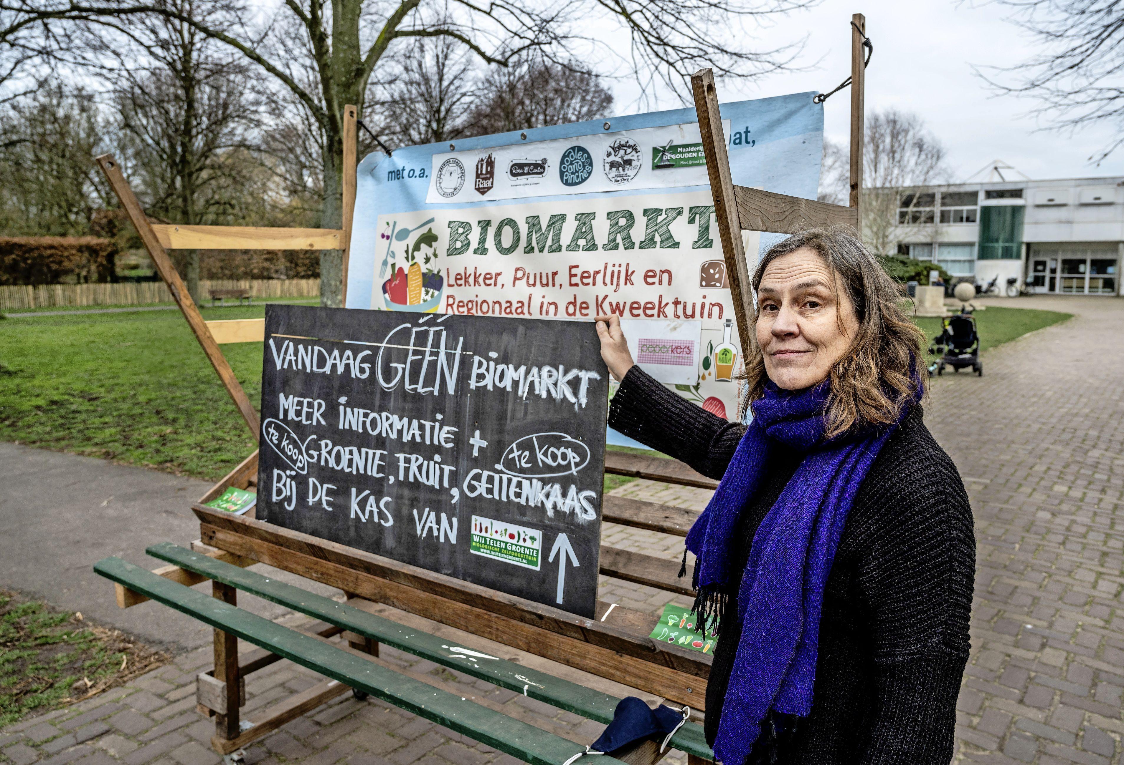 Gemeente verbiedt op laatste moment Haarlemse Biomarkt, onverkochte empanada's, chutneys en oesterzwammen