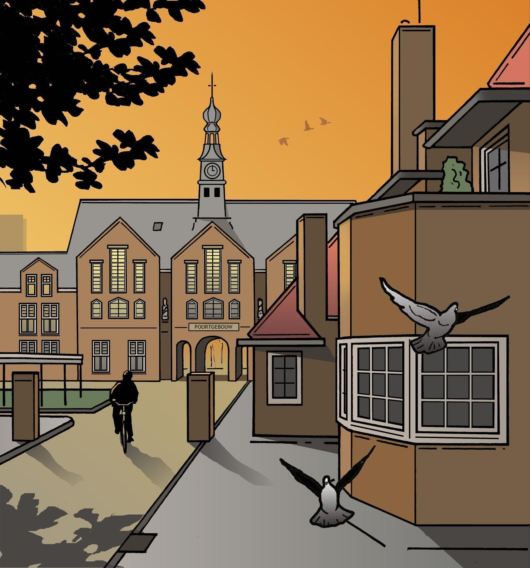 Een ziekenhuis waar je dwars doorheen kunt kijken   Leiden in Klare Lijn