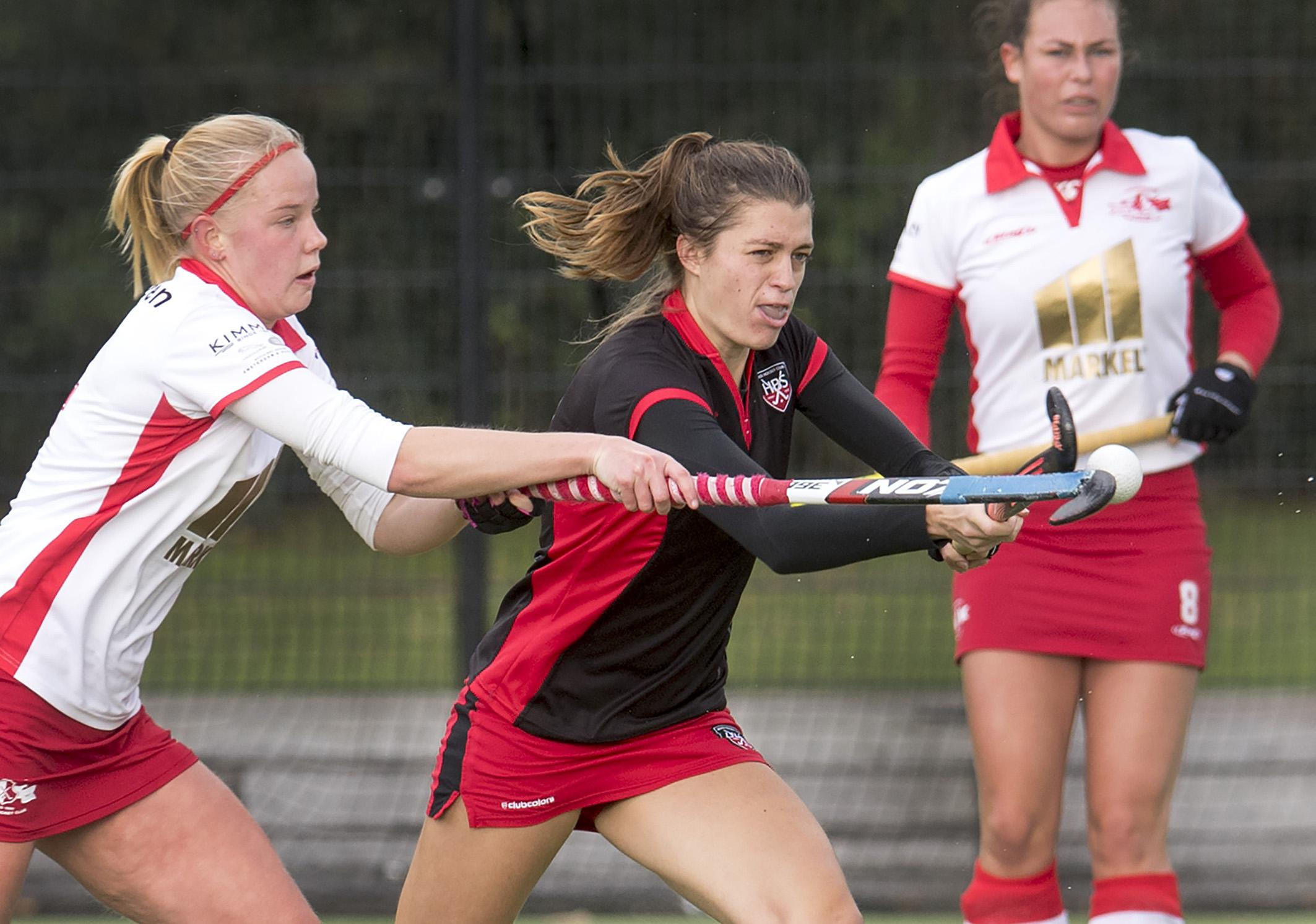Hockeysters HBS en Rood-Wit hervatten competitie