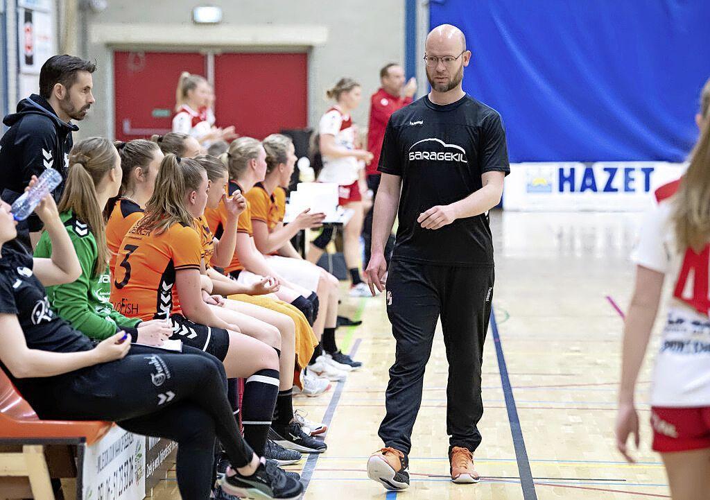 Er zijn nog wel uitdagingen voor Serge ter Horst die in de zomerstop met verbeterpunten aan de slag kan bij de handbalsters van Volendam
