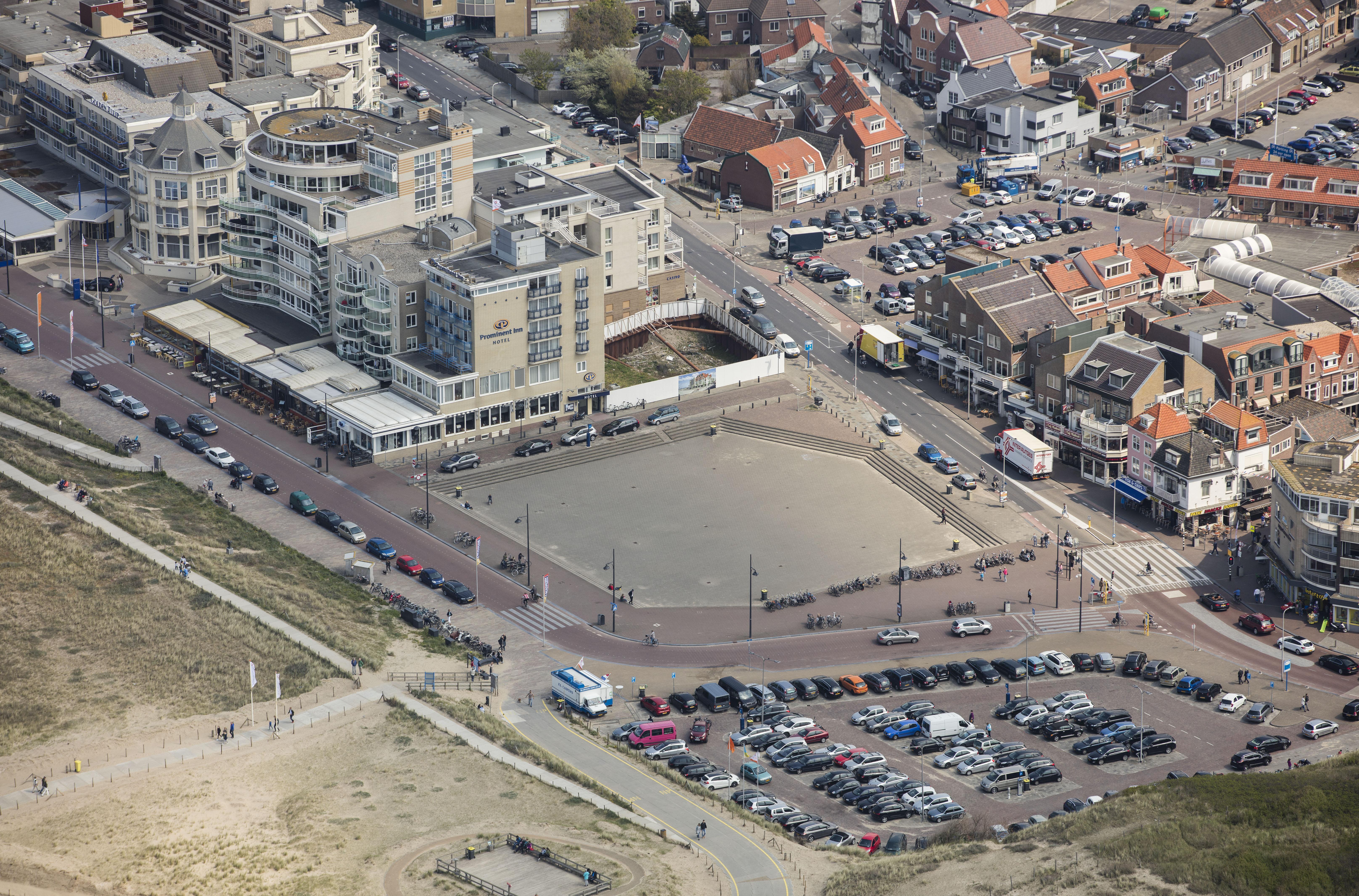 Kustgebied Noordwijk op de schop: herinrichting Palaceplein begint eind van de maand
