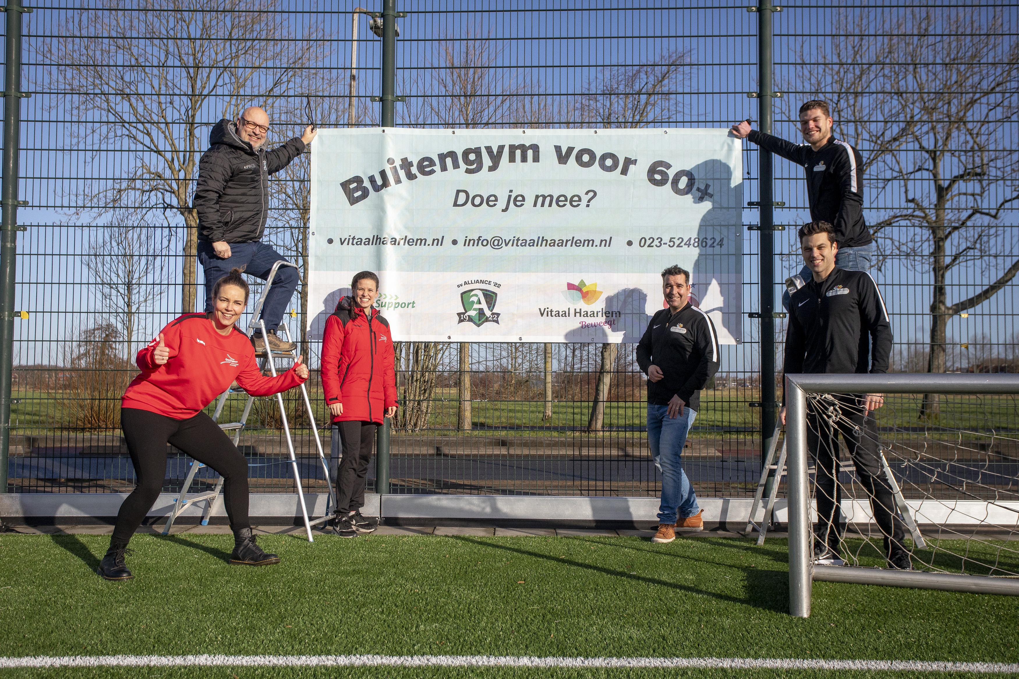 Zestigplussers mogen binnenkort weer sporten bij Sv Alliance '22: 'Samen bewegen is voor elke leeftijd belangrijk'