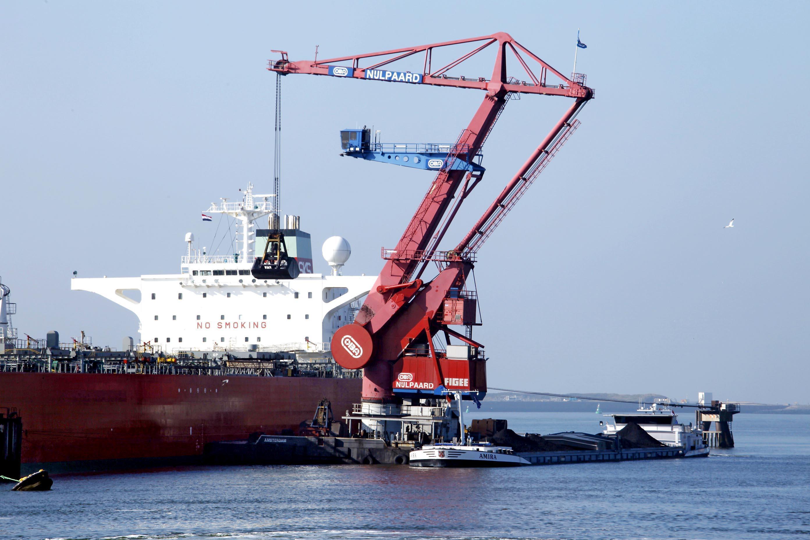 Daling overslag Noordzeekanaalgebied
