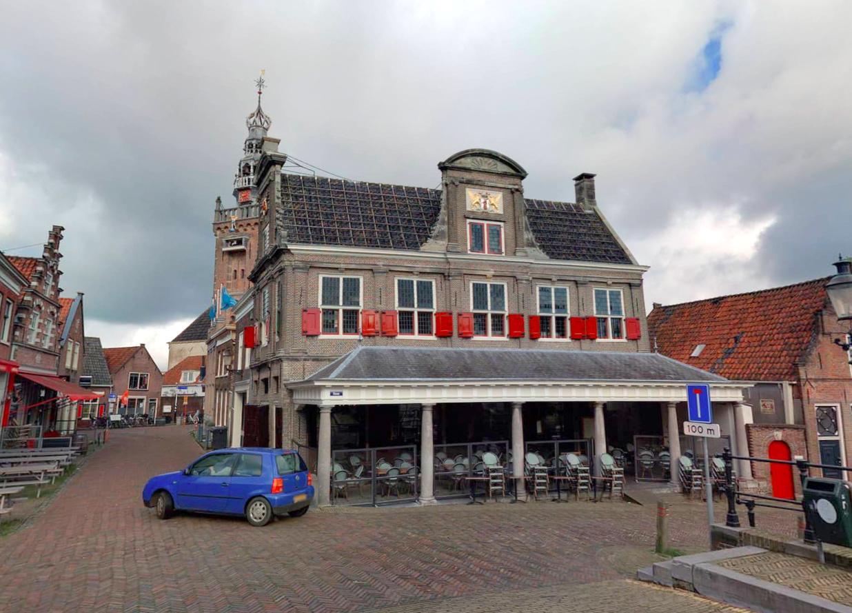Stadsherstel Amsterdam wil Monnickendamse Waegh kopen voor 550.000 euro; kerststal blijft te zien