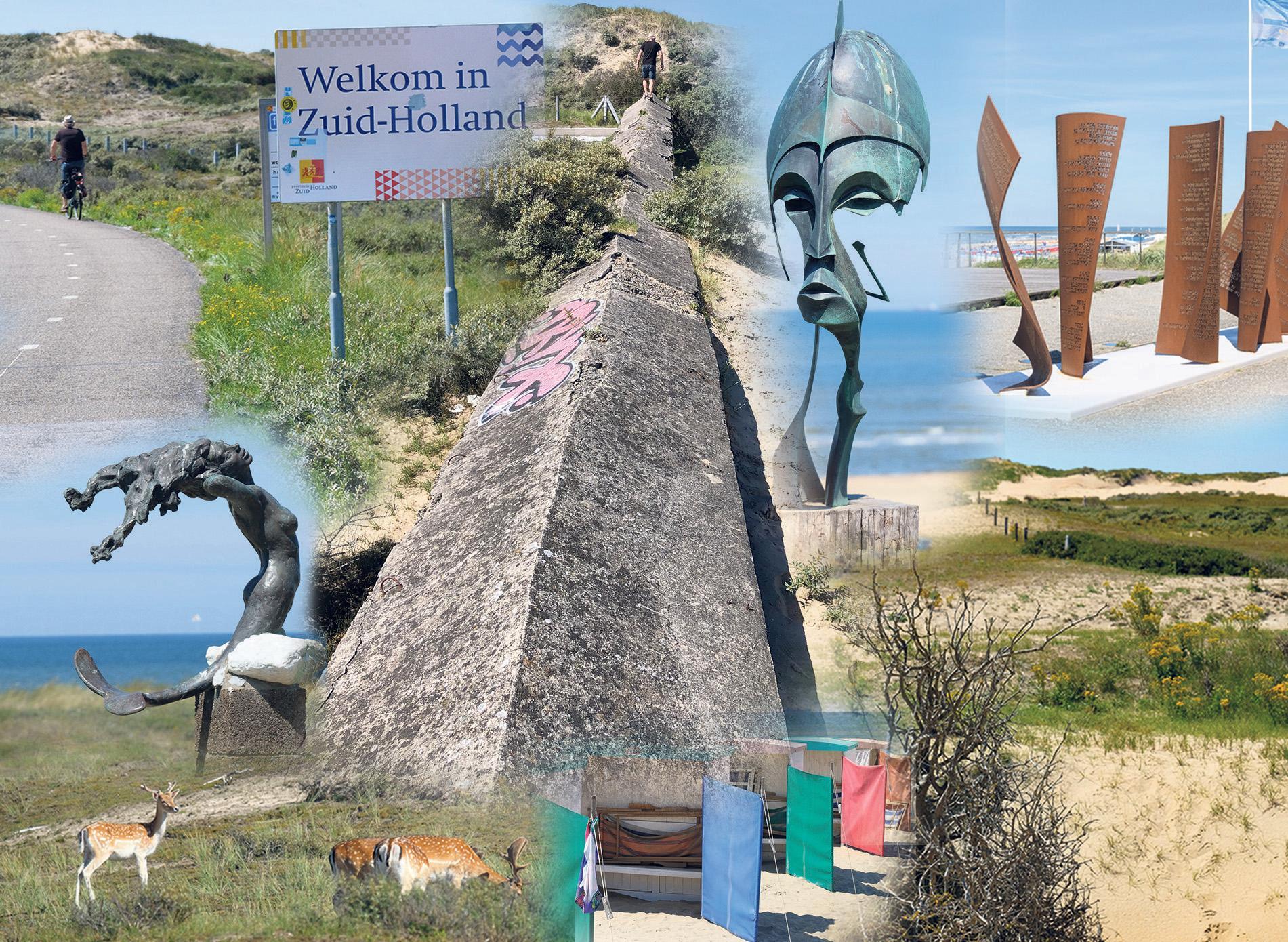 De zee lonkt langs de LF1 Noordzeeroute van Den Helder naar Sluis [video]