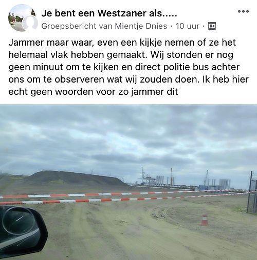 Motorcrossverbod op Hoogtij: borden en linten moeten overlast tegengaan