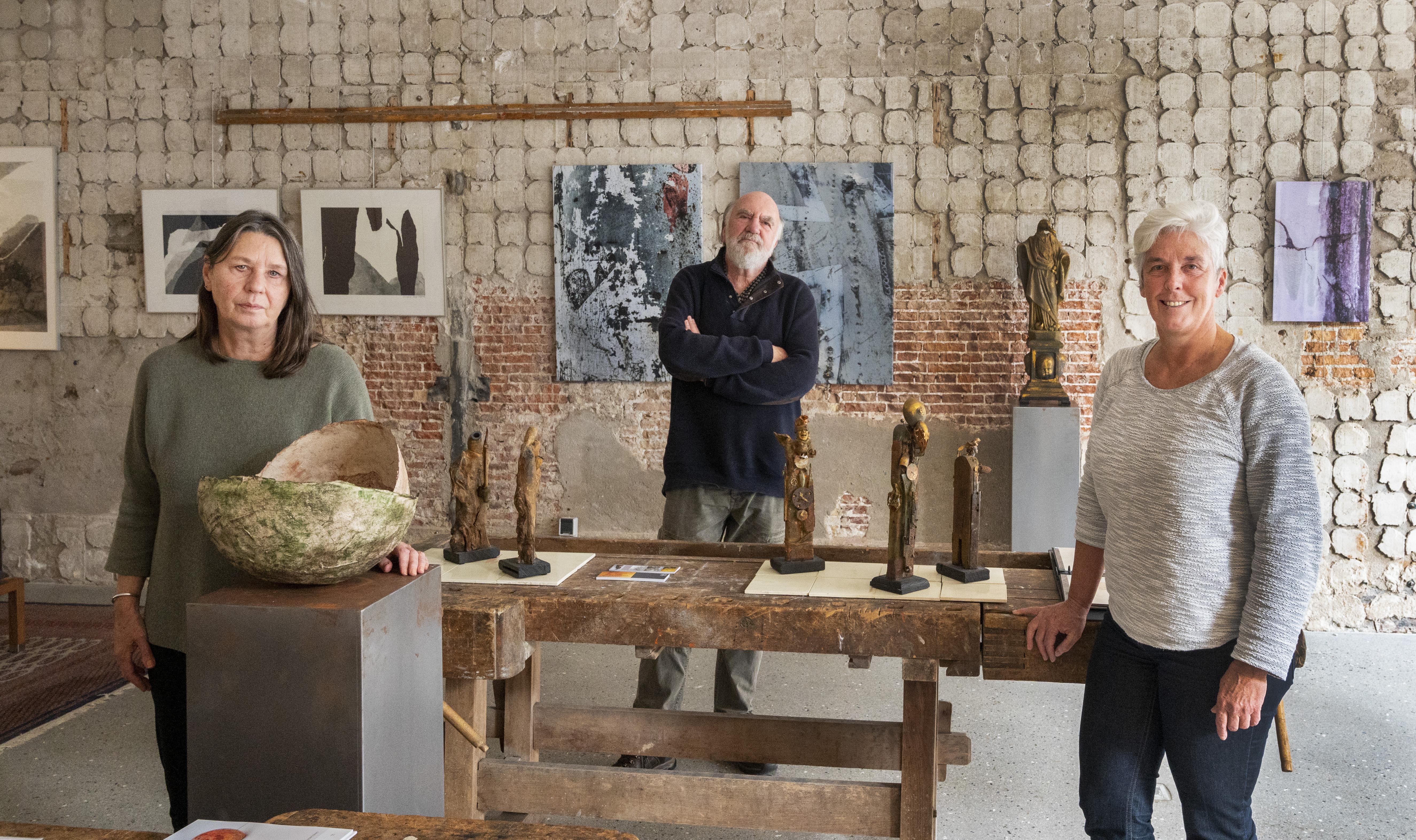 'Opgegraven schatten uit een imaginair verleden'. Galerie SPW59 in Haarlem komend weekeinde open voor kunstliefhebbers