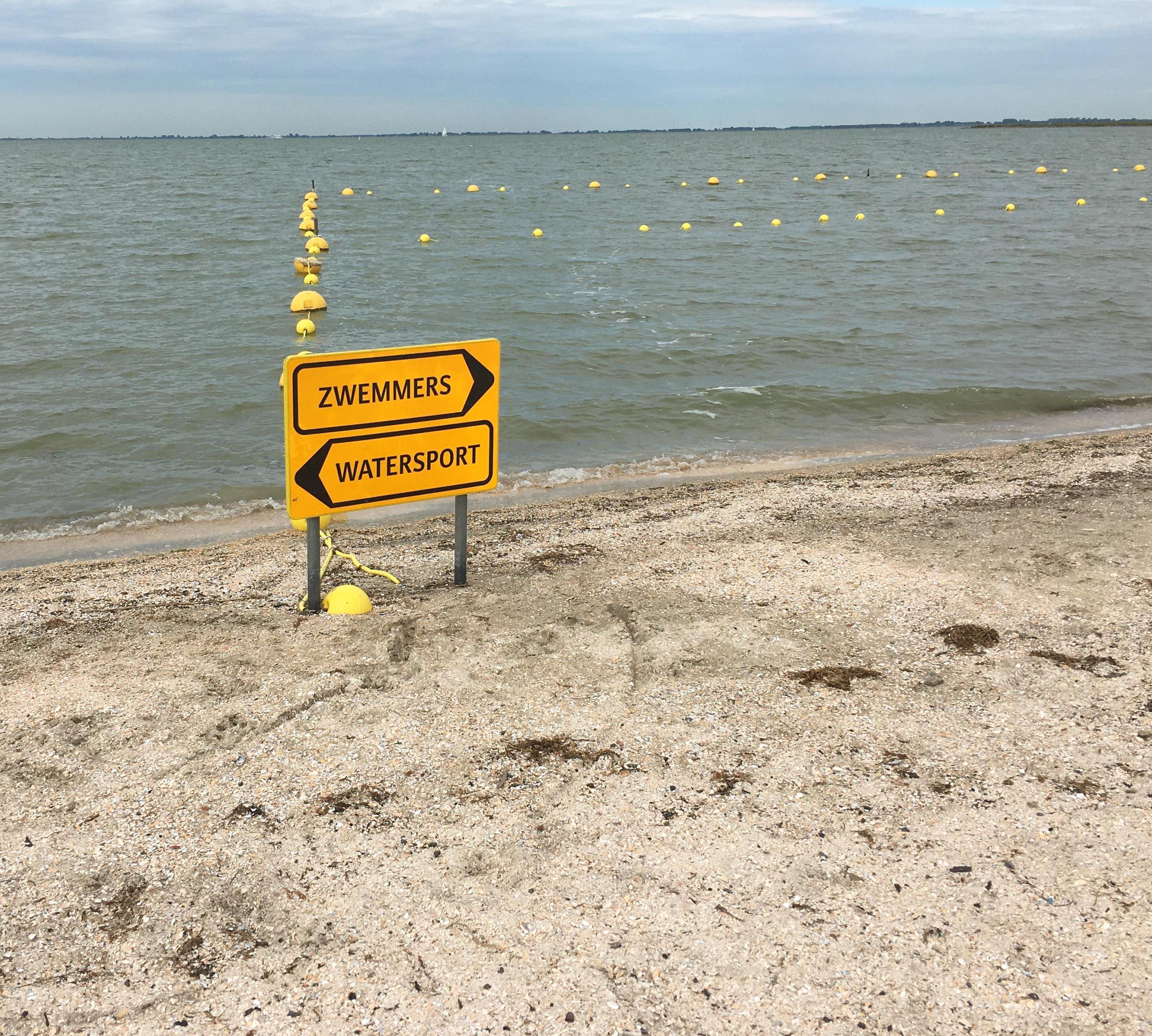 Nog geen spoor van vermiste badgast in Schellinkhout
